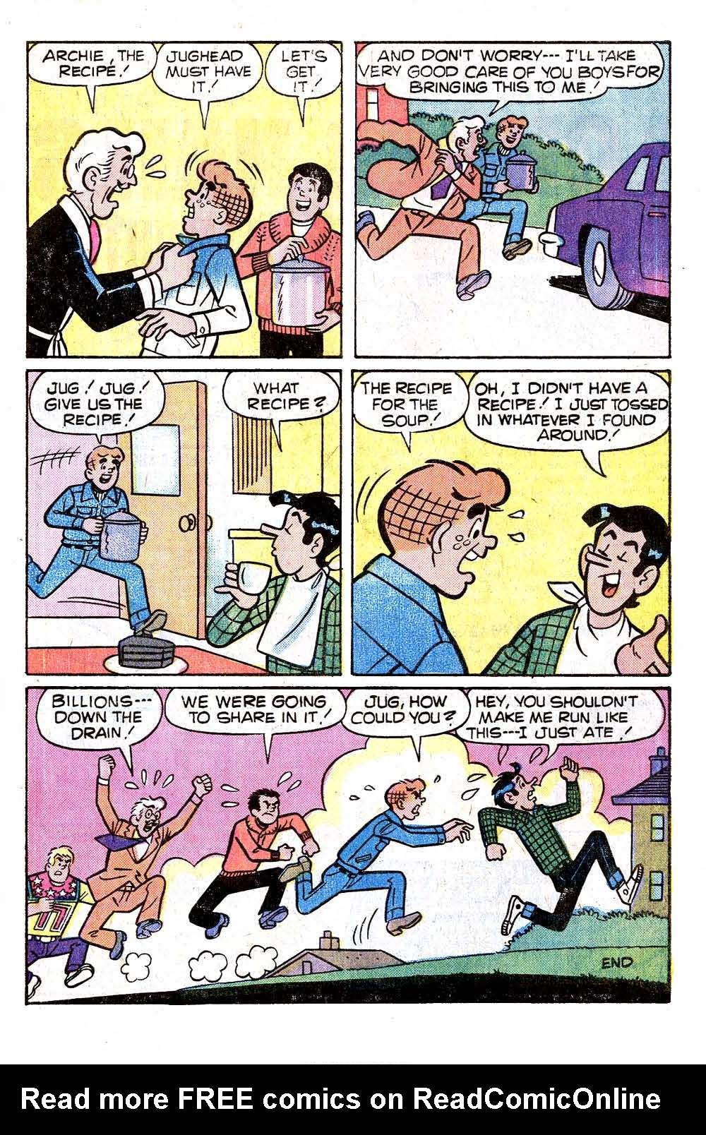Read online Archie (1960) comic -  Issue #263 - 33