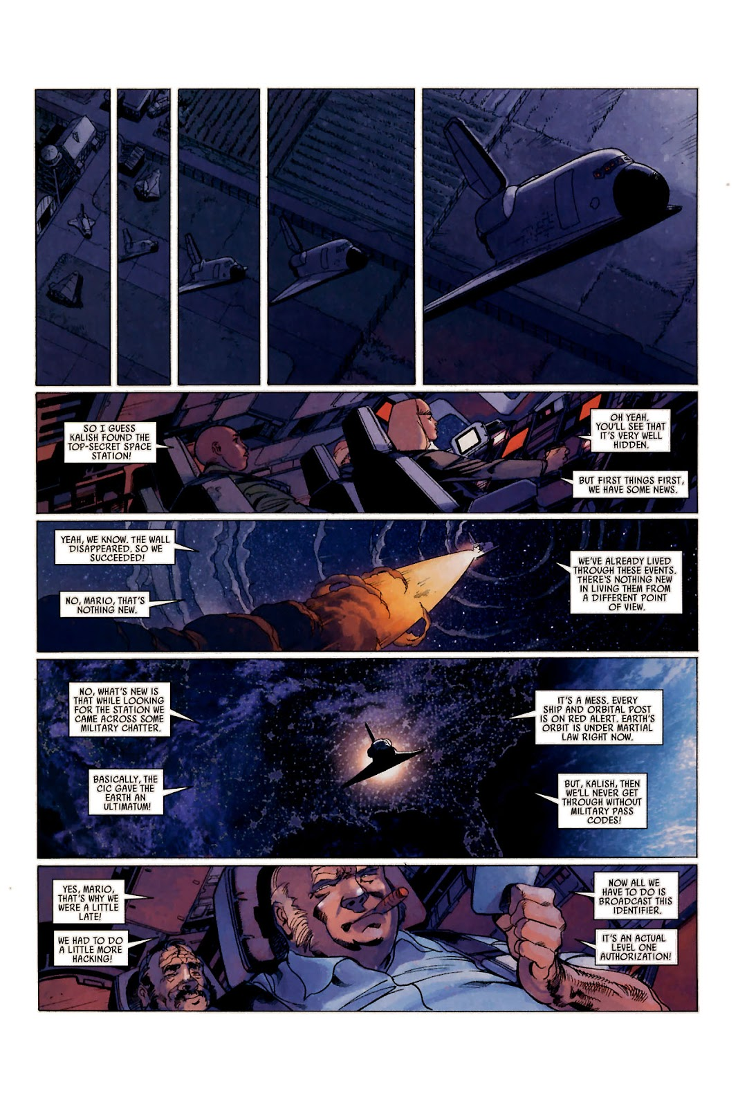 Read online Universal War One: Revelations comic -  Issue #1 - 35