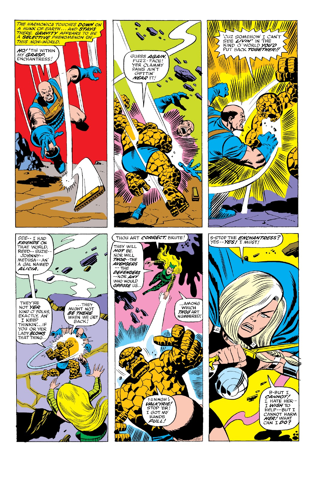 Read online Marvel Two-In-One Epic Collection: Cry Monster comic -  Issue # TPB (Part 2) - 76