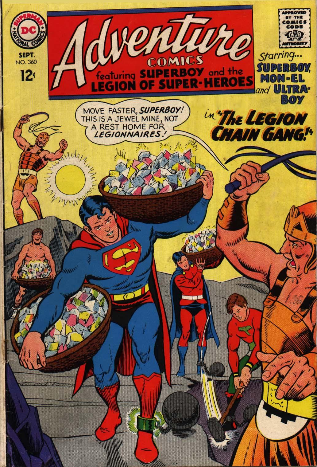 Read online Adventure Comics (1938) comic -  Issue #360 - 1