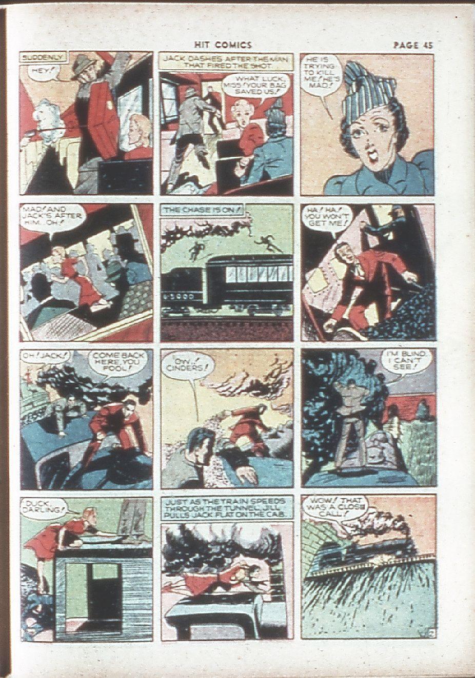 Read online Hit Comics comic -  Issue #7 - 47