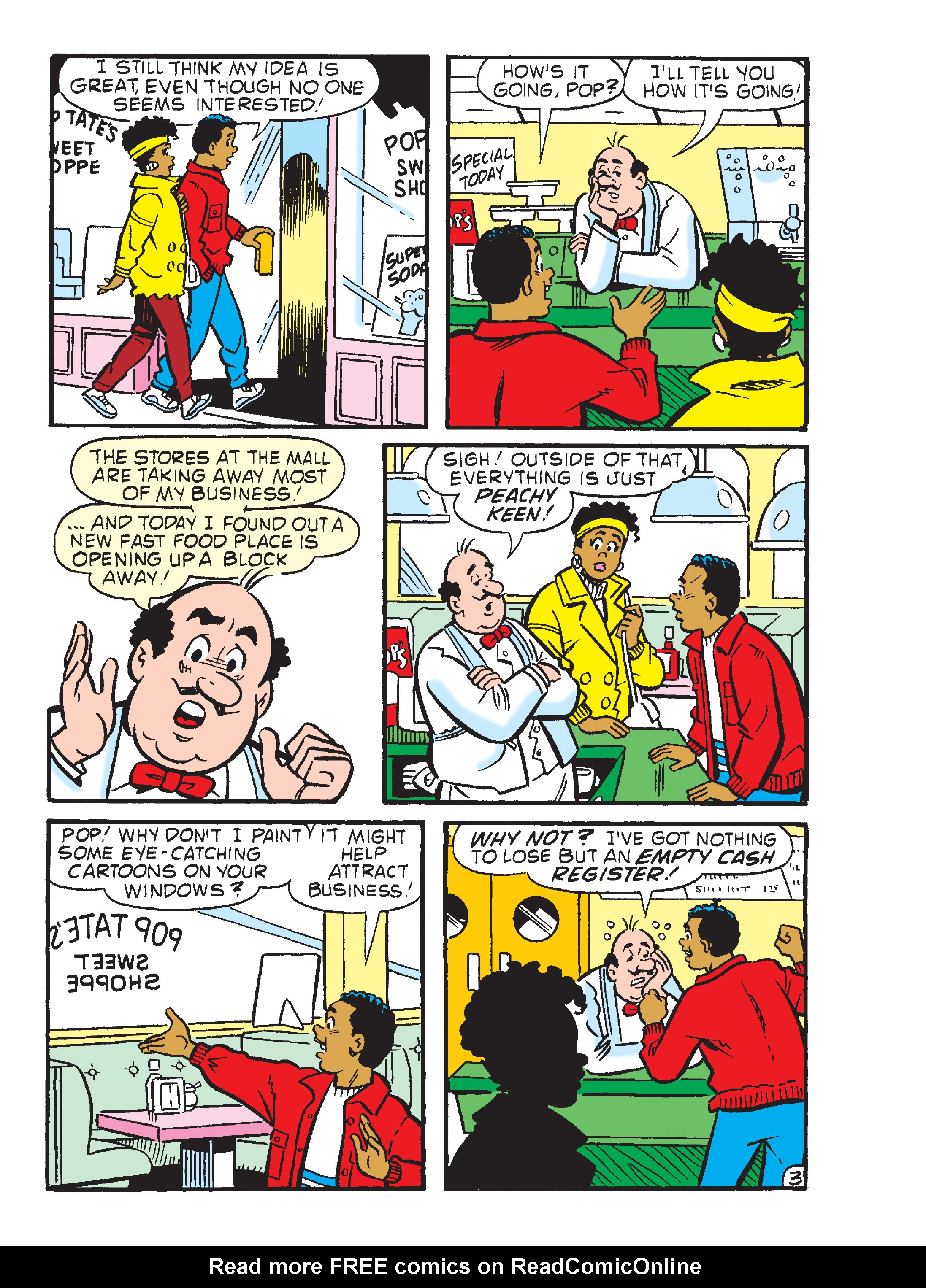 Read online Archie's Funhouse Double Digest comic -  Issue #23 - 138