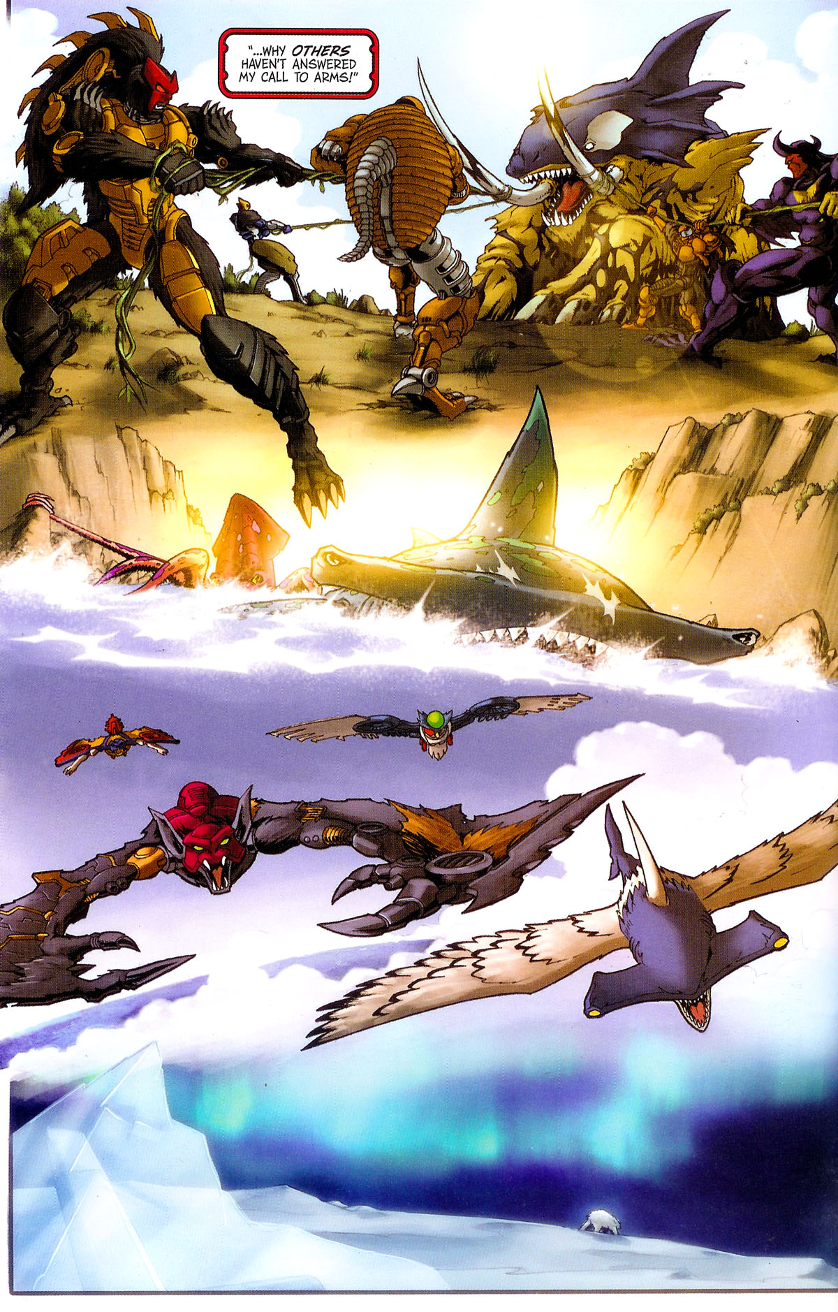 Read online Transformers, Beast Wars: The Gathering comic -  Issue #2 - 9