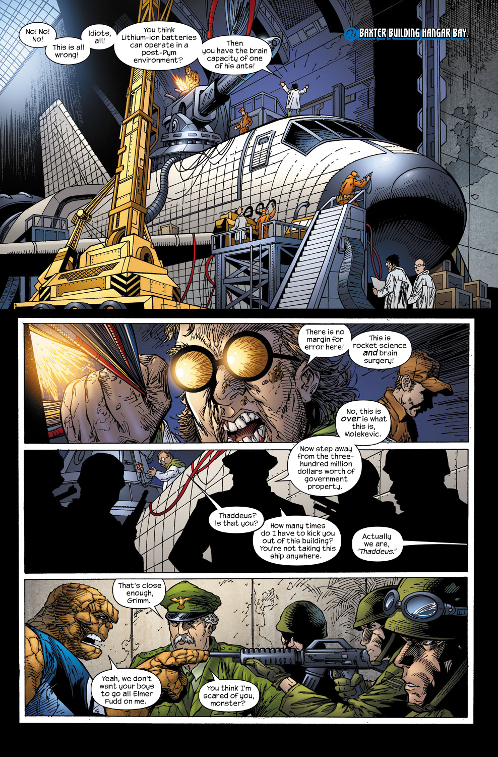 Read online Ultimate Fantastic Four (2004) comic -  Issue #59 - 6