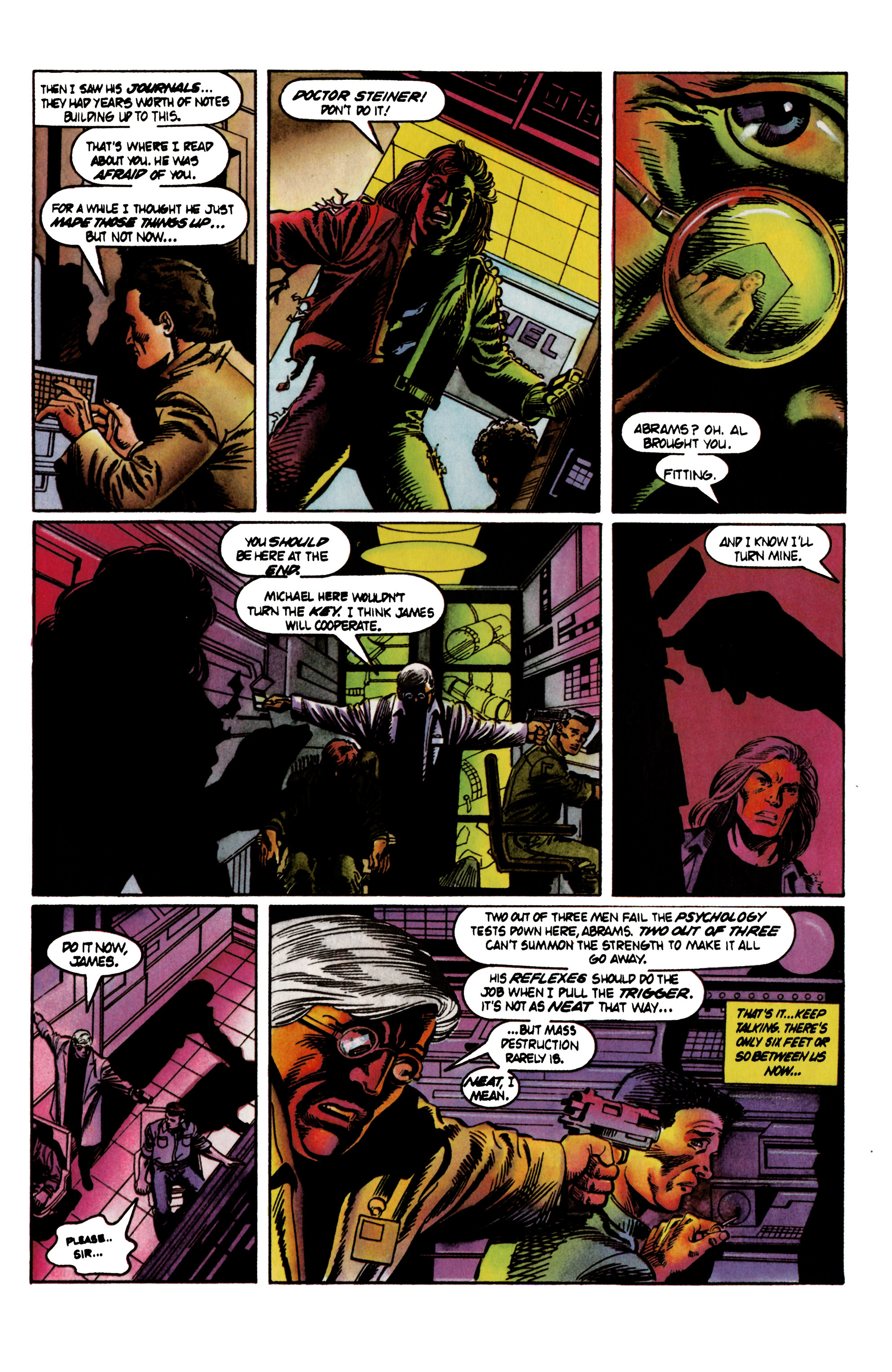 Read online Eternal Warrior (1992) comic -  Issue #21 - 21