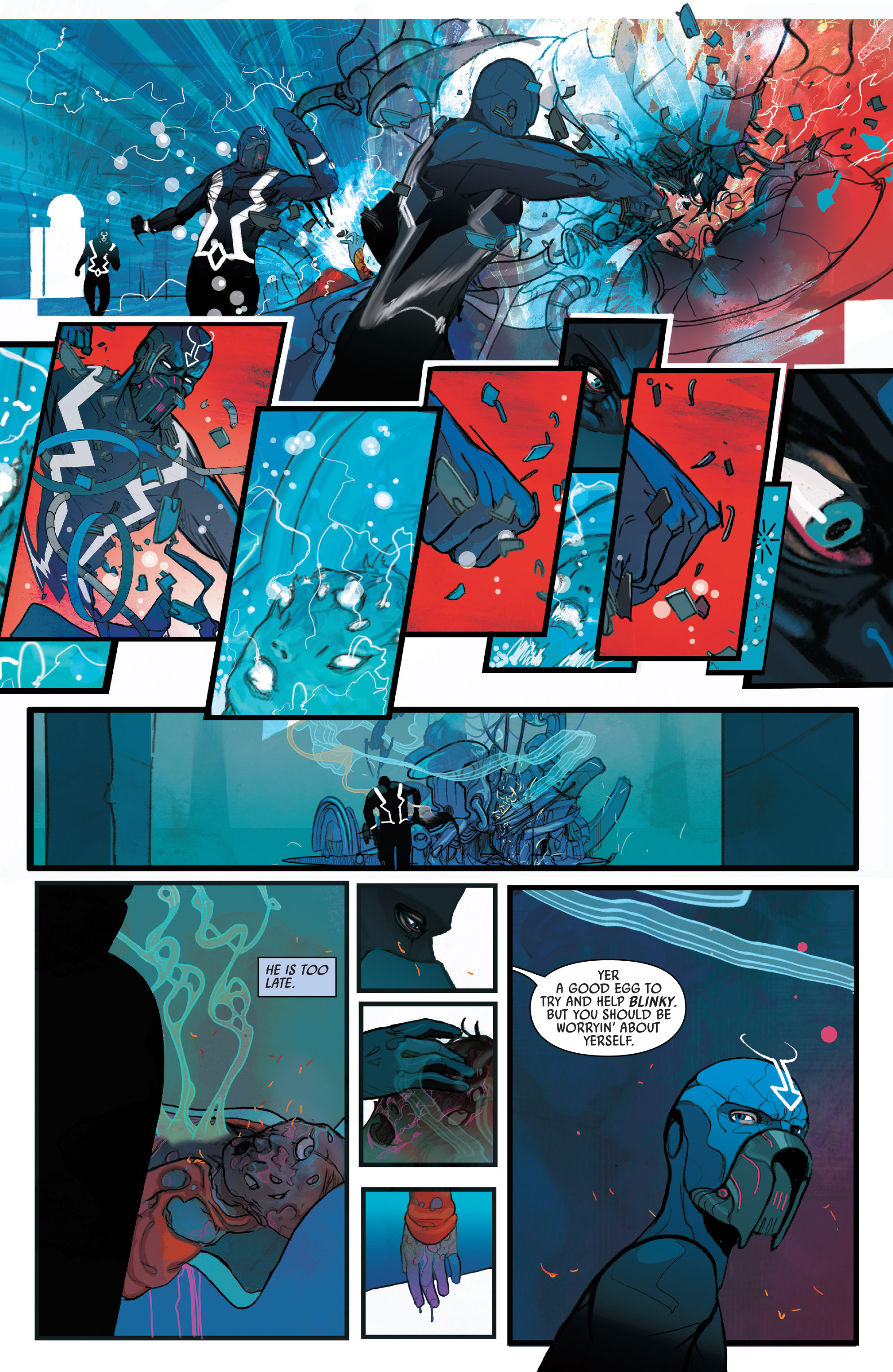 Read online Black Bolt comic -  Issue #1 - 12
