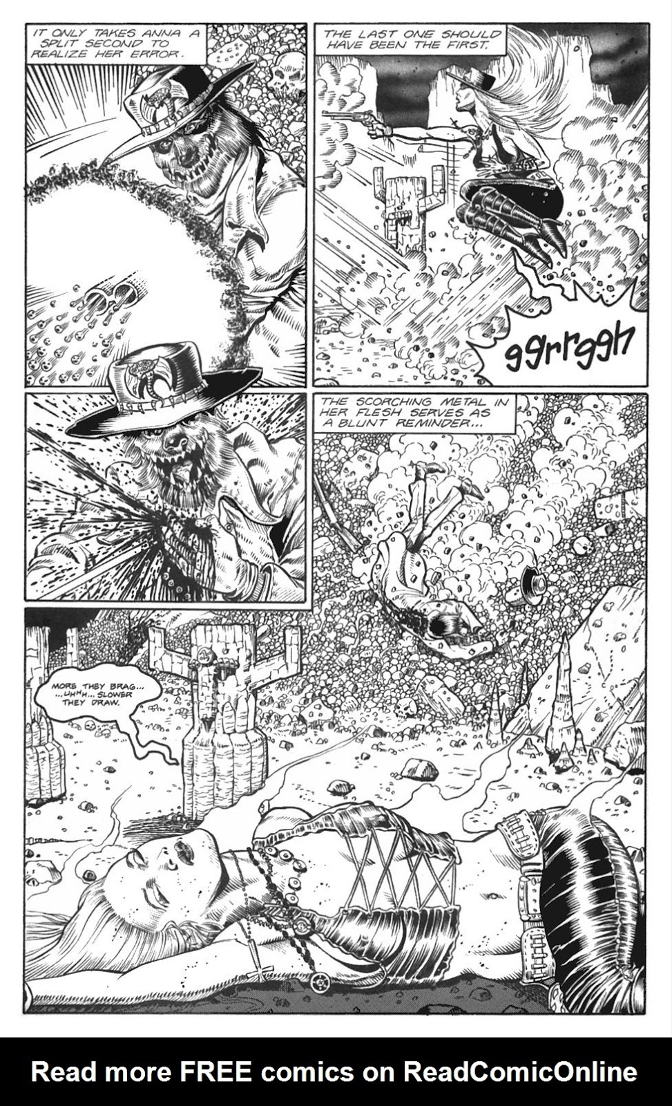 Read online Gunfighters in Hell comic -  Issue #4 - 22