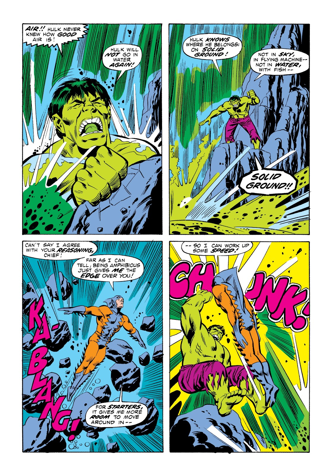 Read online Marvel Masterworks: The Incredible Hulk comic -  Issue # TPB 9 (Part 1) - 88