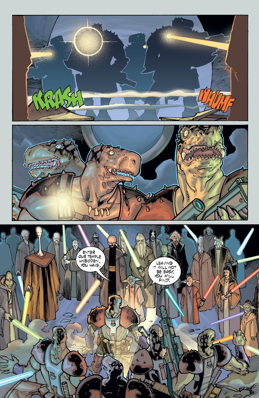 Read online Star Wars Legends: Rise of the Sith - Epic Collection comic -  Issue # TPB 1 (Part 4) - 96