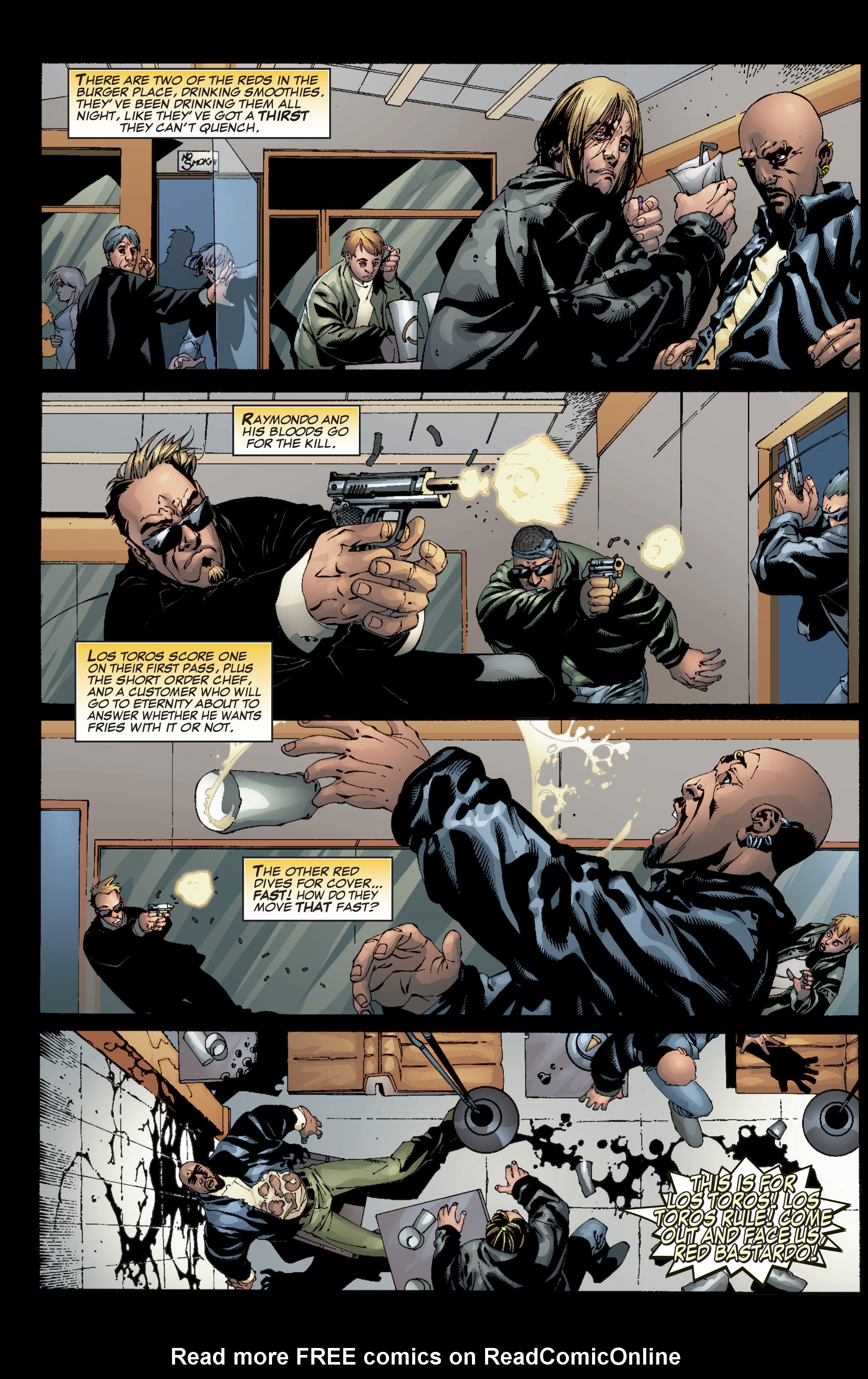 Read online Shadowman (1999) comic -  Issue #5 - 4