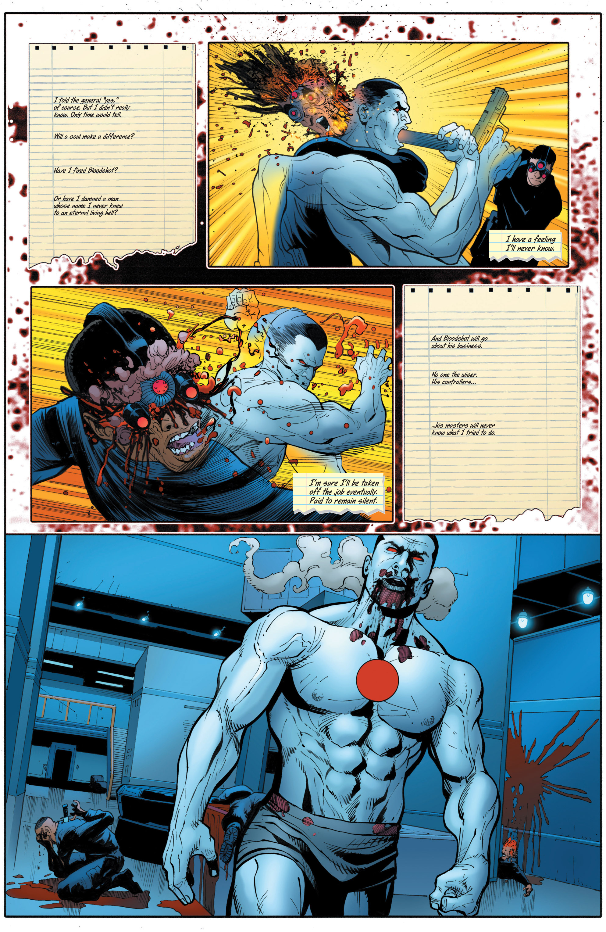 Read online Bloodshot and H.A.R.D.Corps comic -  Issue # TPB 4 - 117