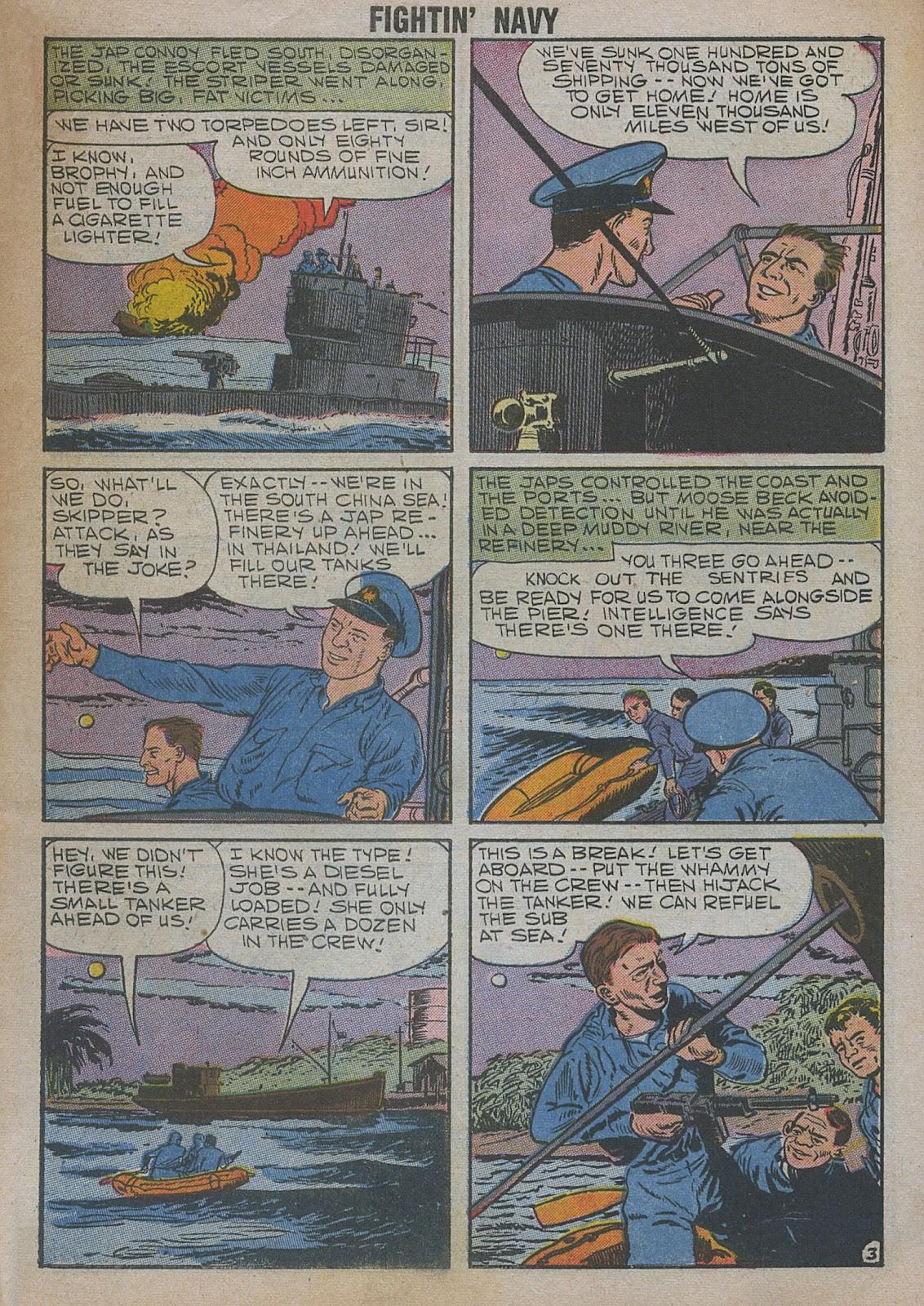 Read online Fightin' Navy comic -  Issue #82 - 5