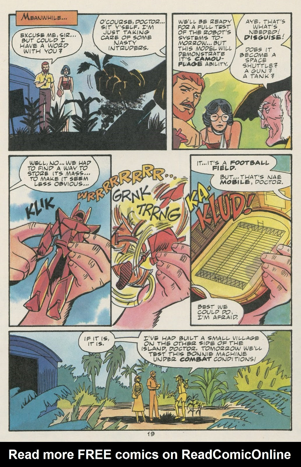 Jonny Quest (1986) issue 17 - Page 21