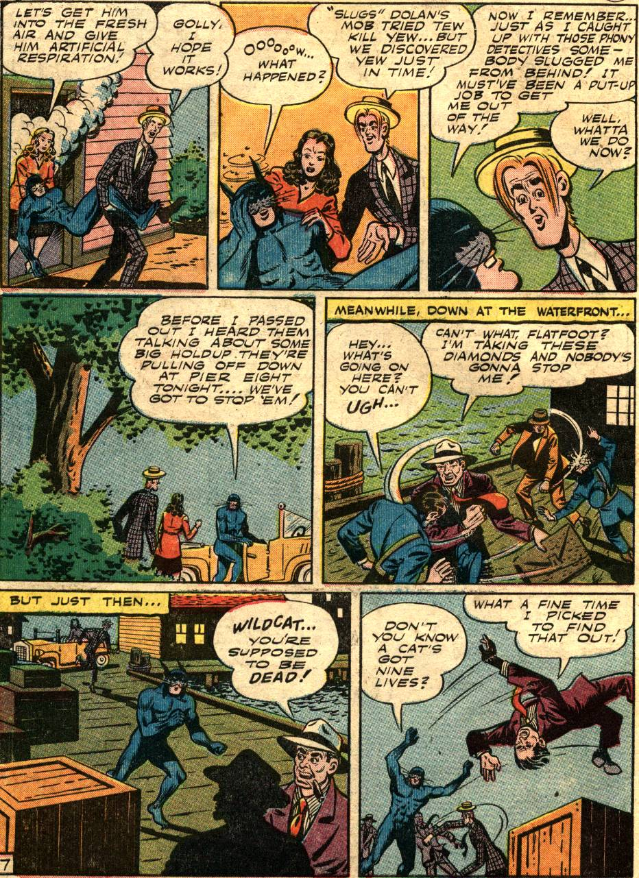 Read online Sensation (Mystery) Comics comic -  Issue #58 - 48