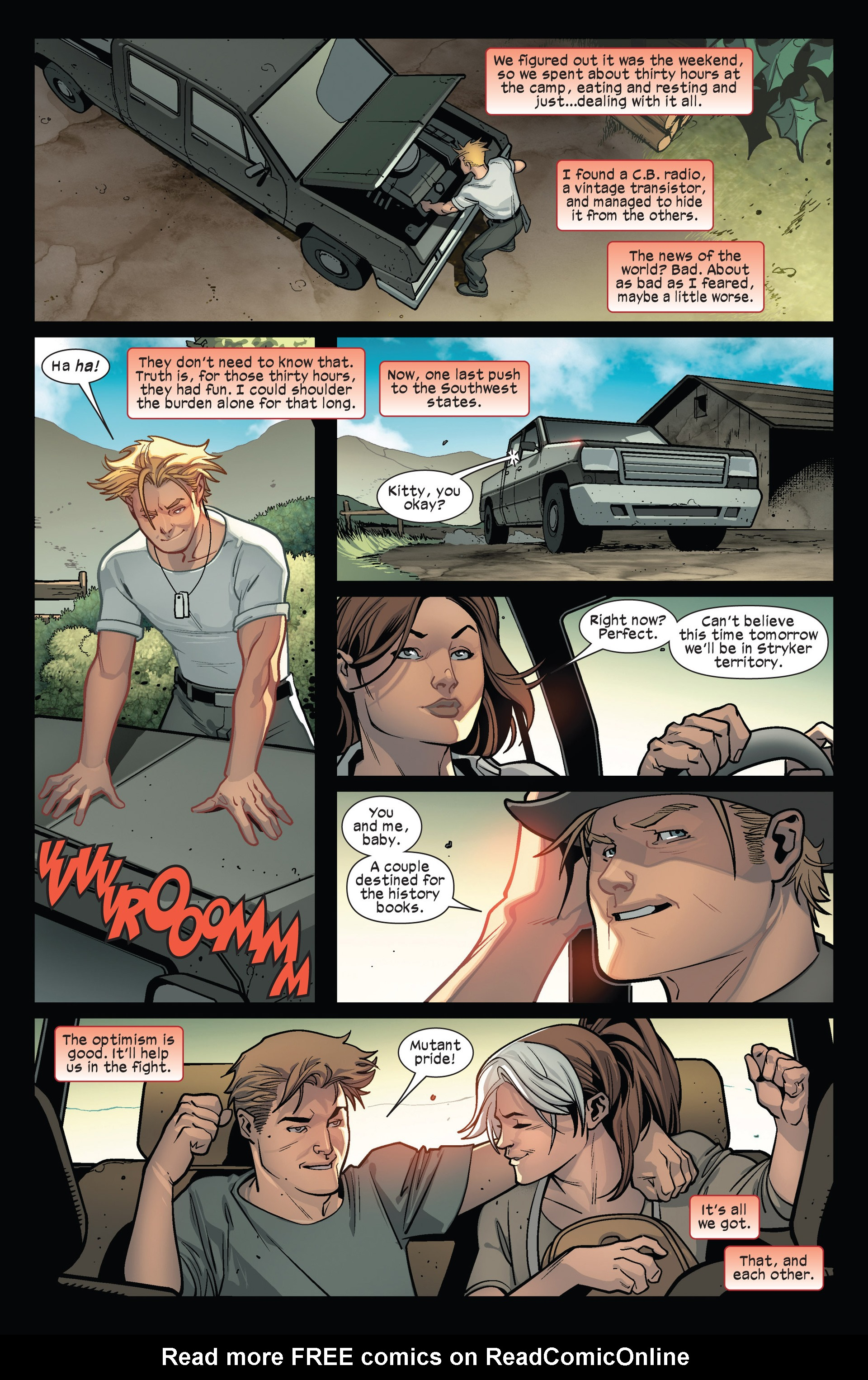 Read online Ultimate Comics X-Men comic -  Issue #15 - 18