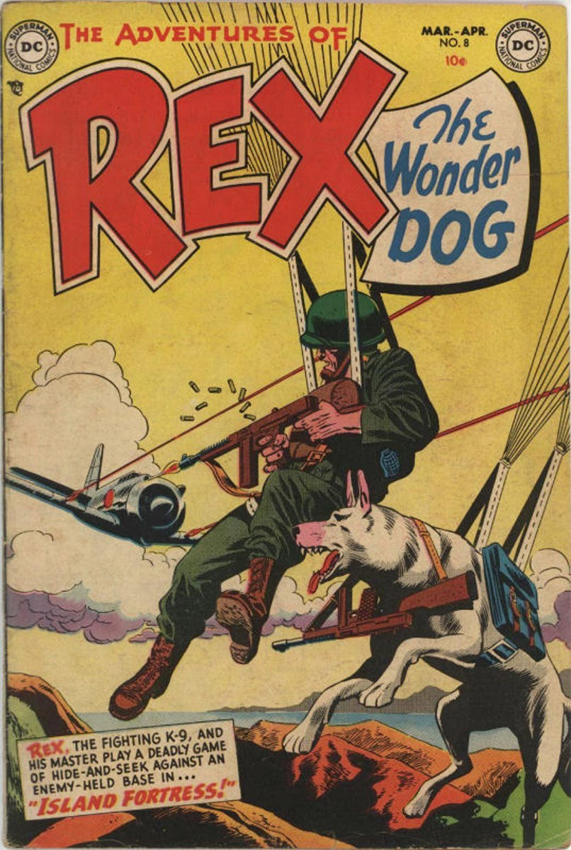 The Adventures of Rex the Wonder Dog issue 8 - Page 1