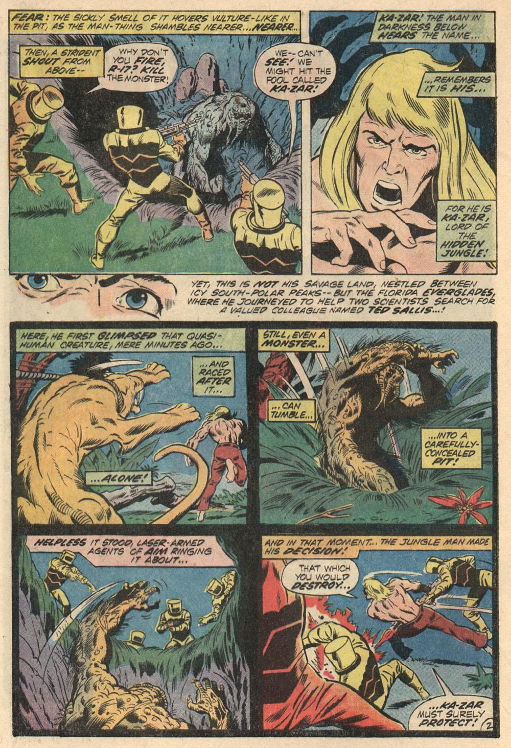 Read online Astonishing Tales (1970) comic -  Issue #13 - 3