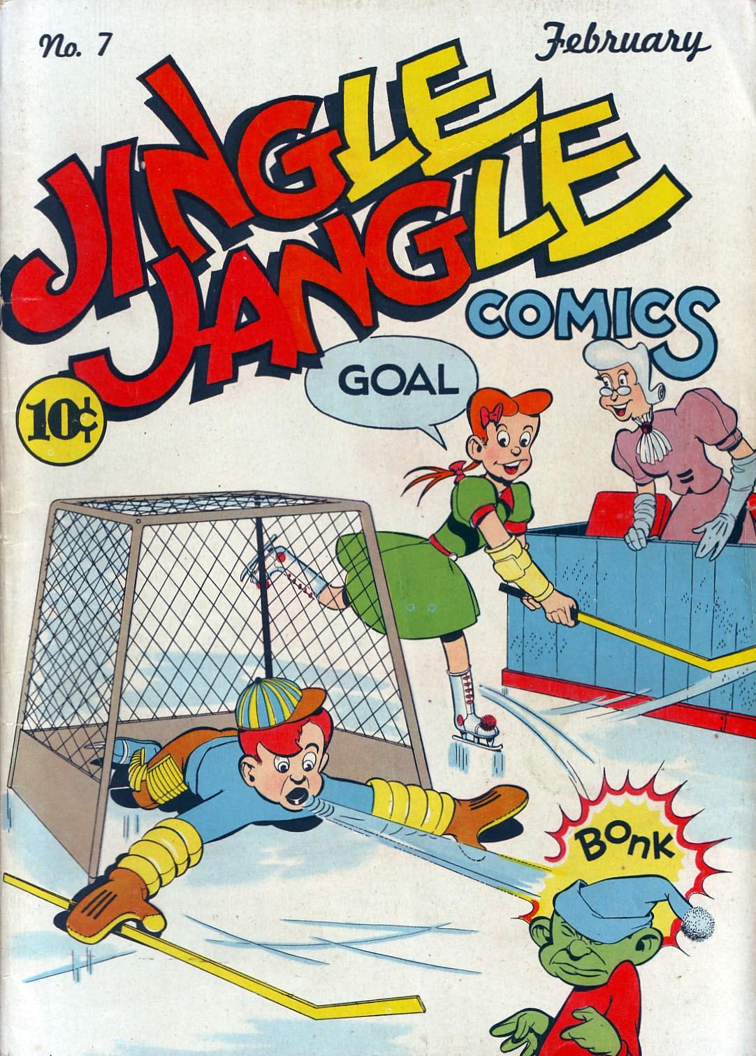 Jingle Jangle Comics 7 Page 1