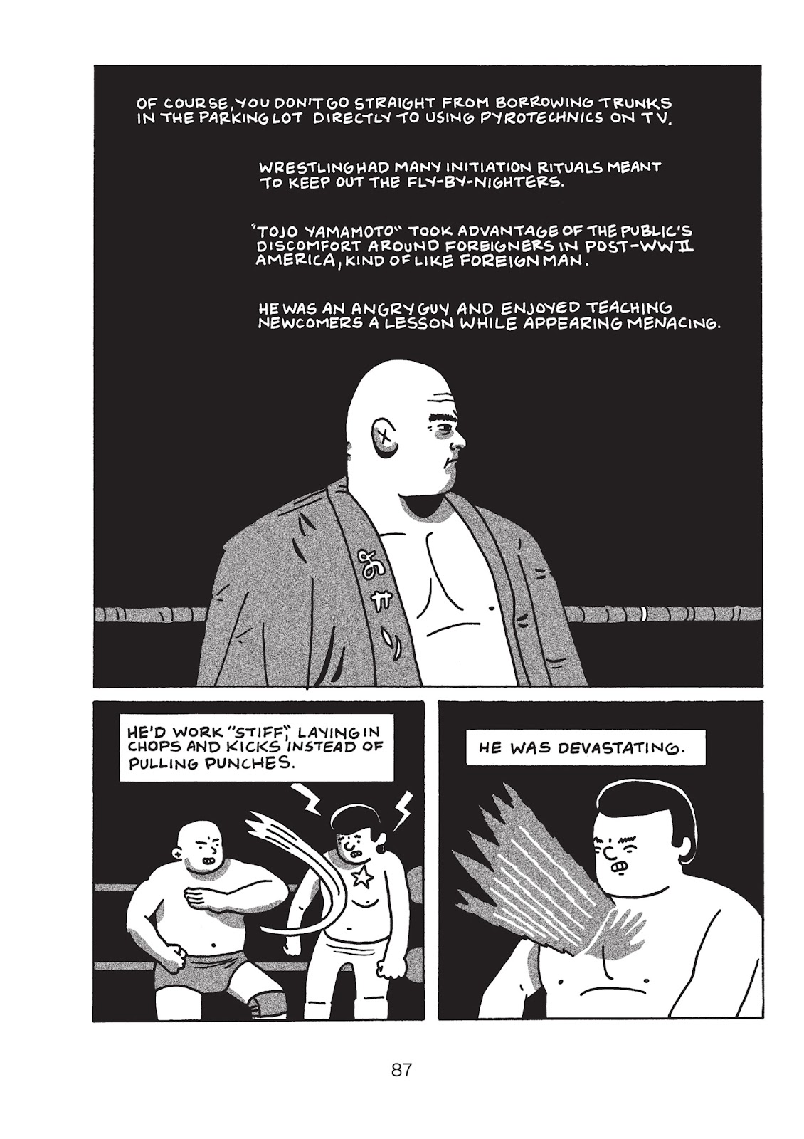 Read online Is This Guy For Real?: The Unbelievable Andy Kaufman comic -  Issue # TPB (Part 1) - 92