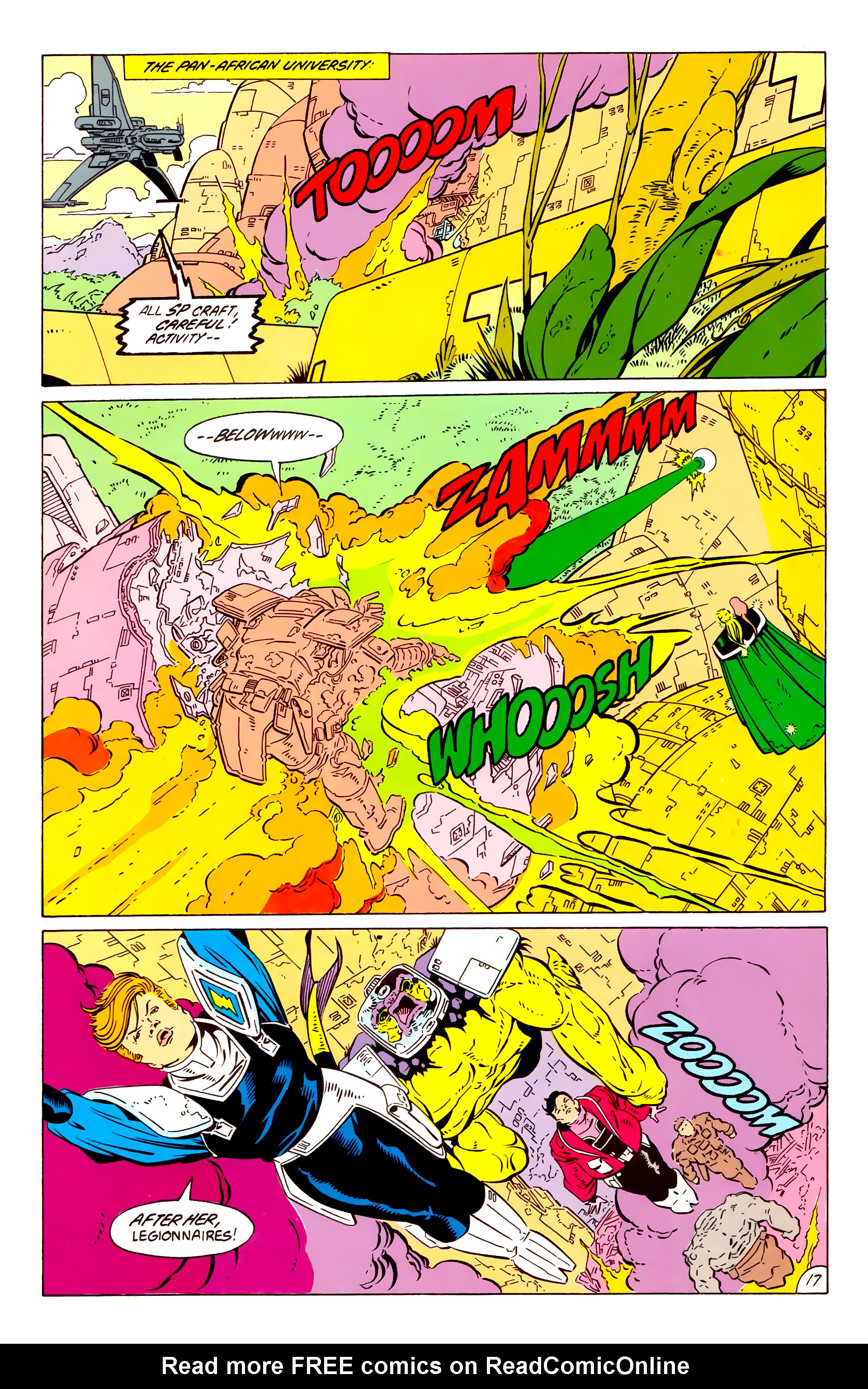 Legion of Super-Heroes (1984) 57 Page 17