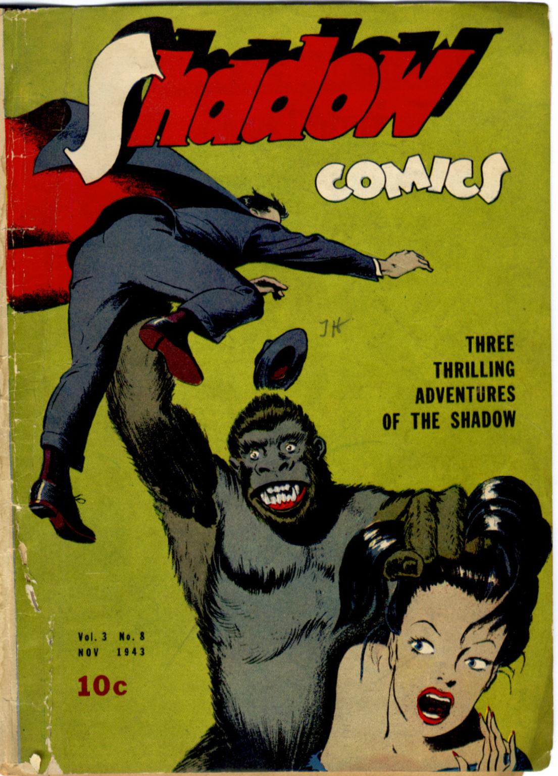 Read online Shadow Comics comic -  Issue #32 - 2