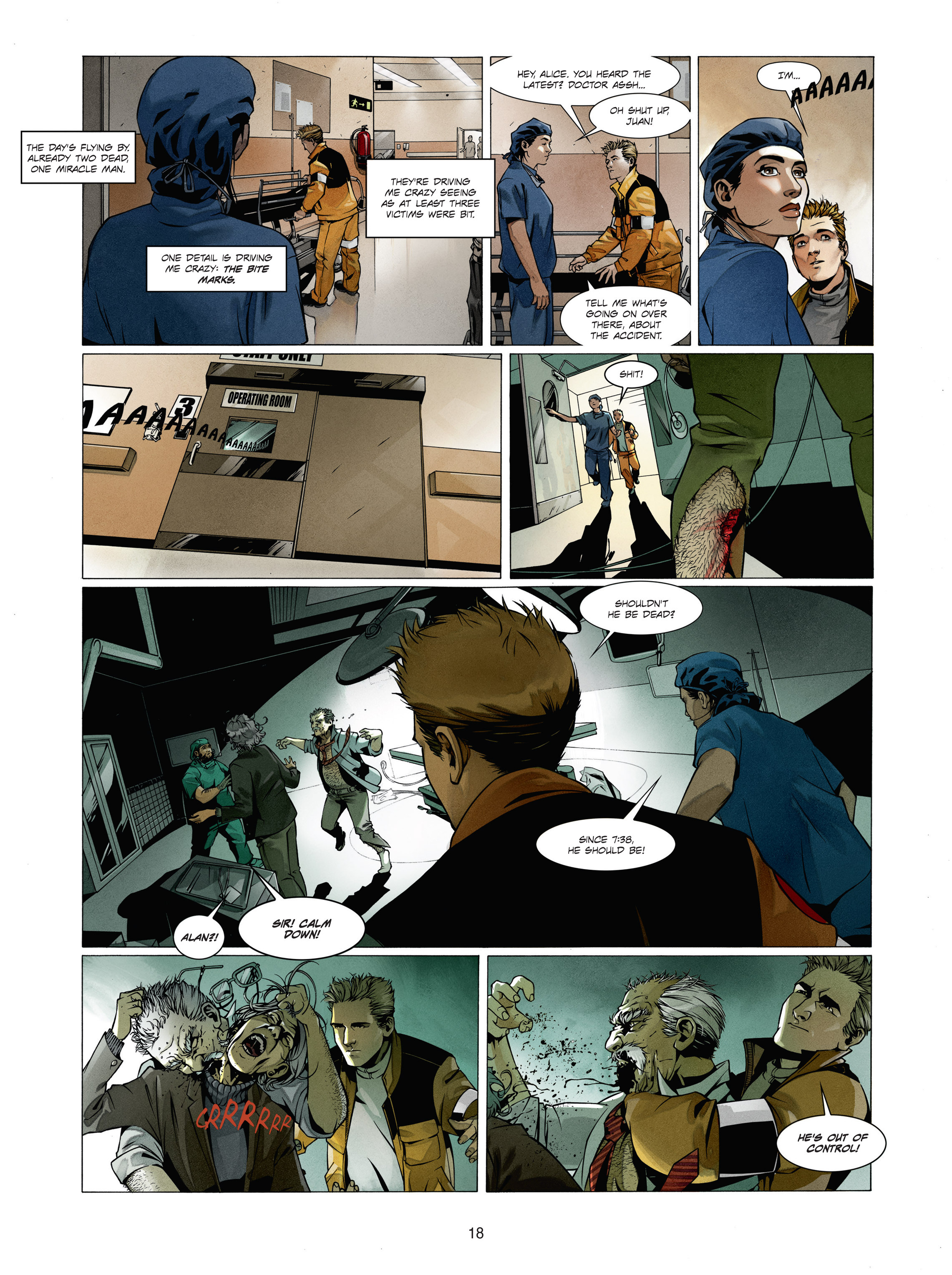 Read online Alice Matheson comic -  Issue #1 - 17