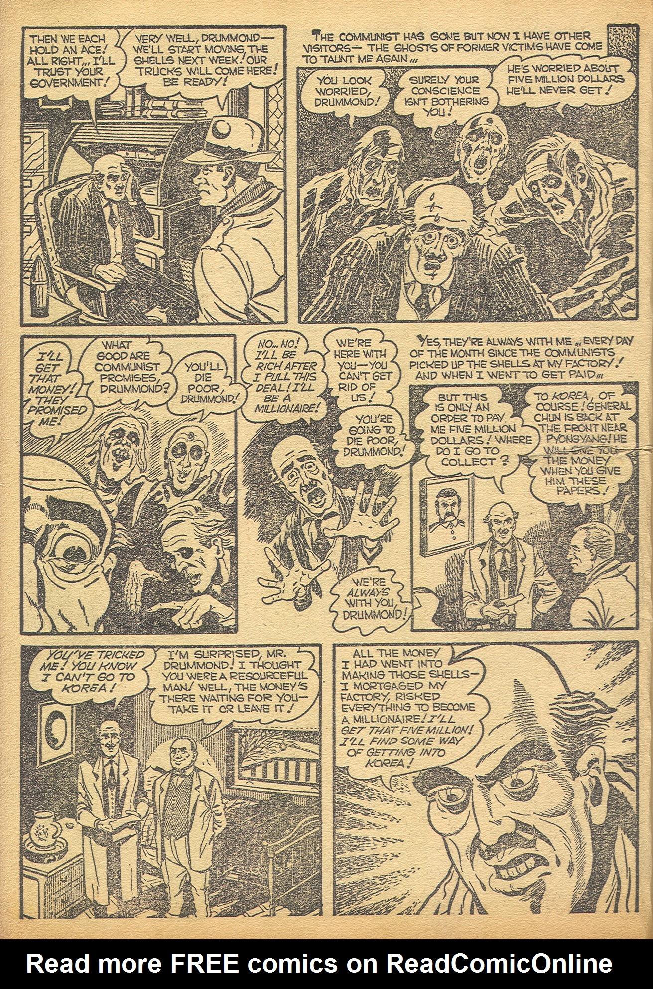 Read online Adventures into Weird Worlds comic -  Issue #8 - 9