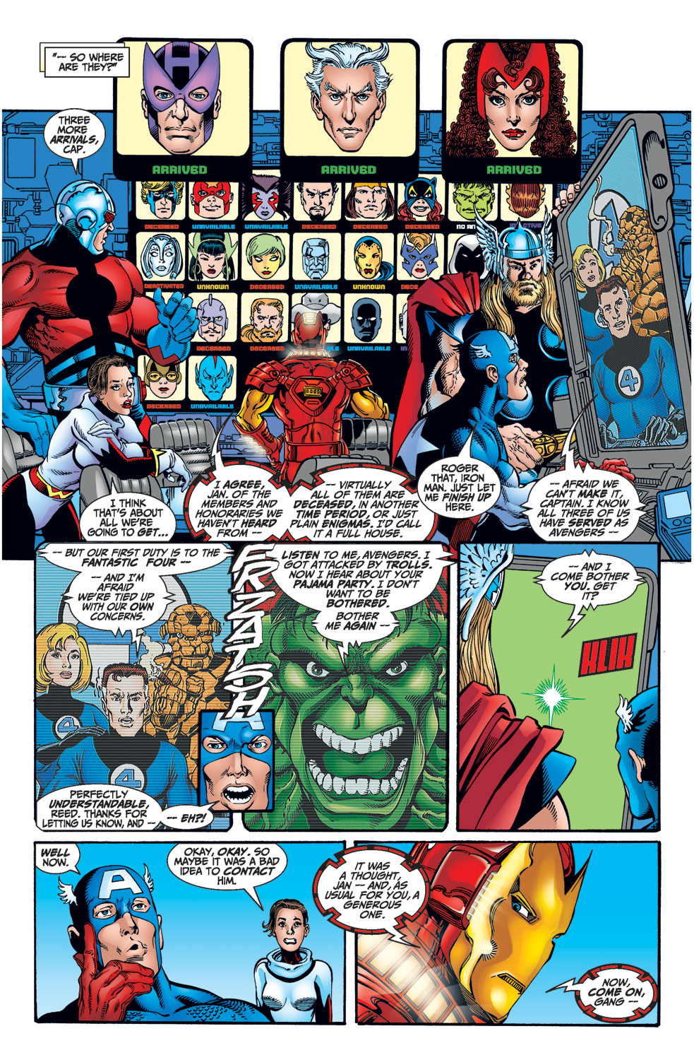 Read online Avengers (1998) comic -  Issue #1 - 18