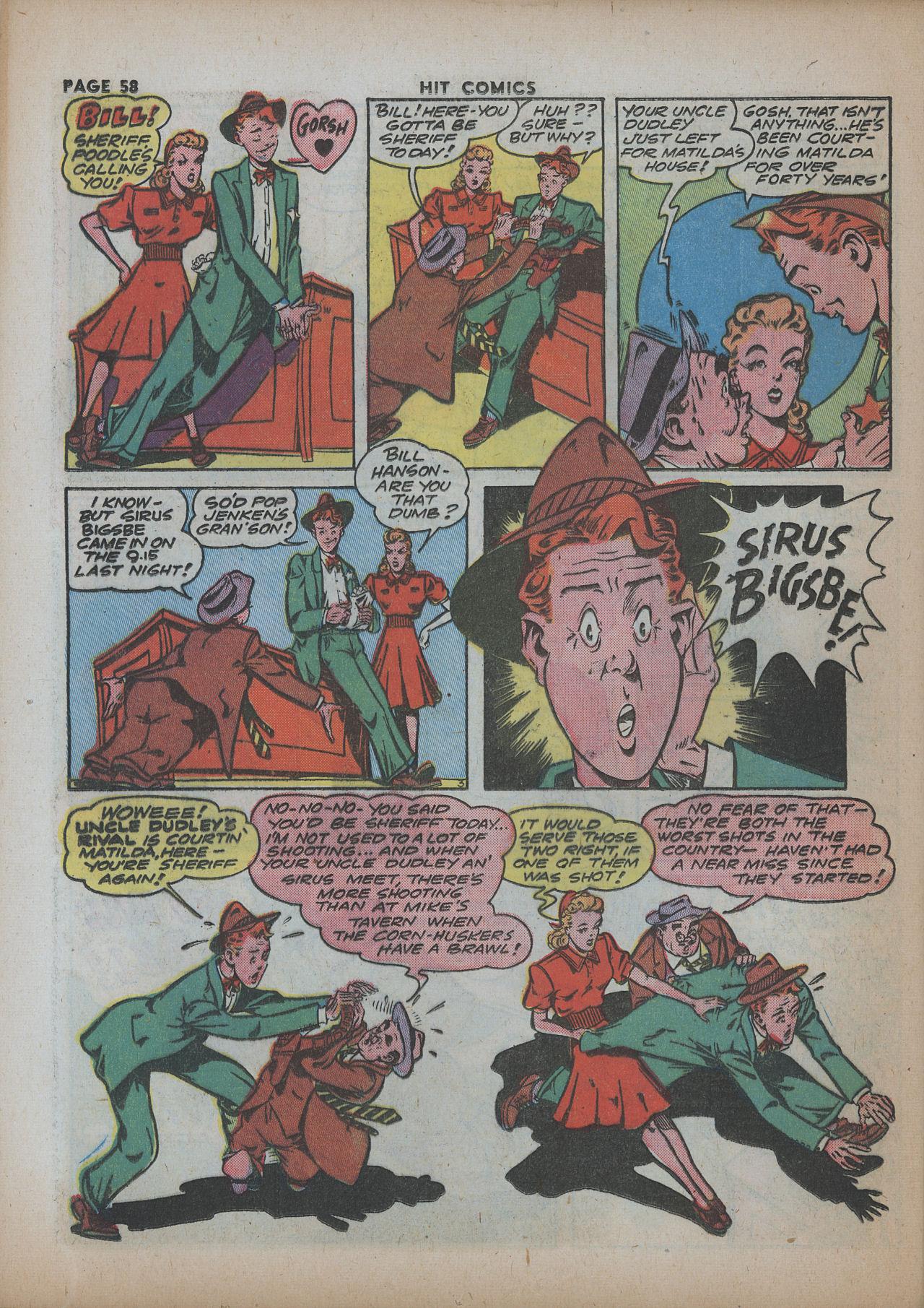 Read online Hit Comics comic -  Issue #26 - 59