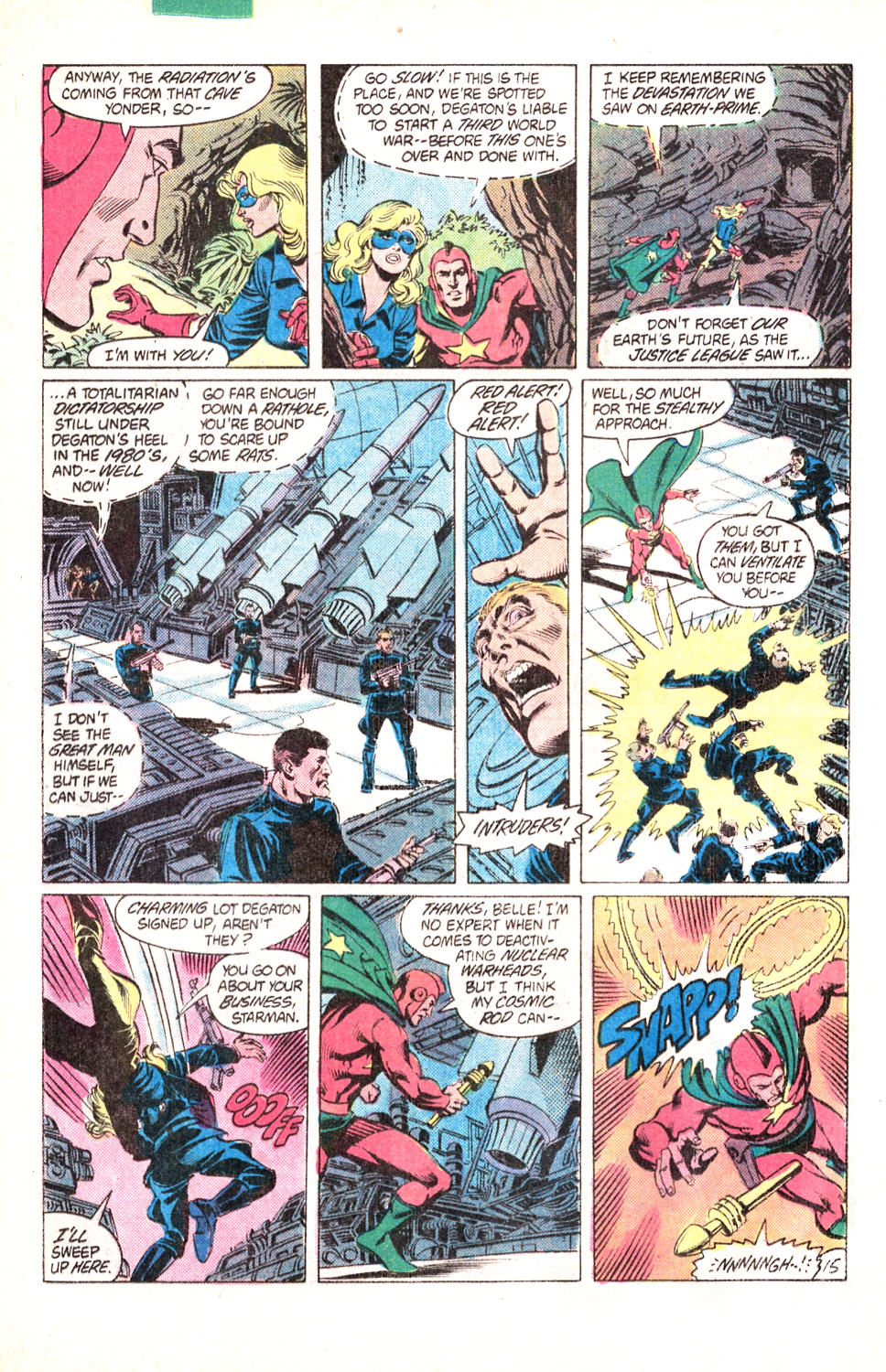 Read online All-Star Squadron comic -  Issue #15 - 35