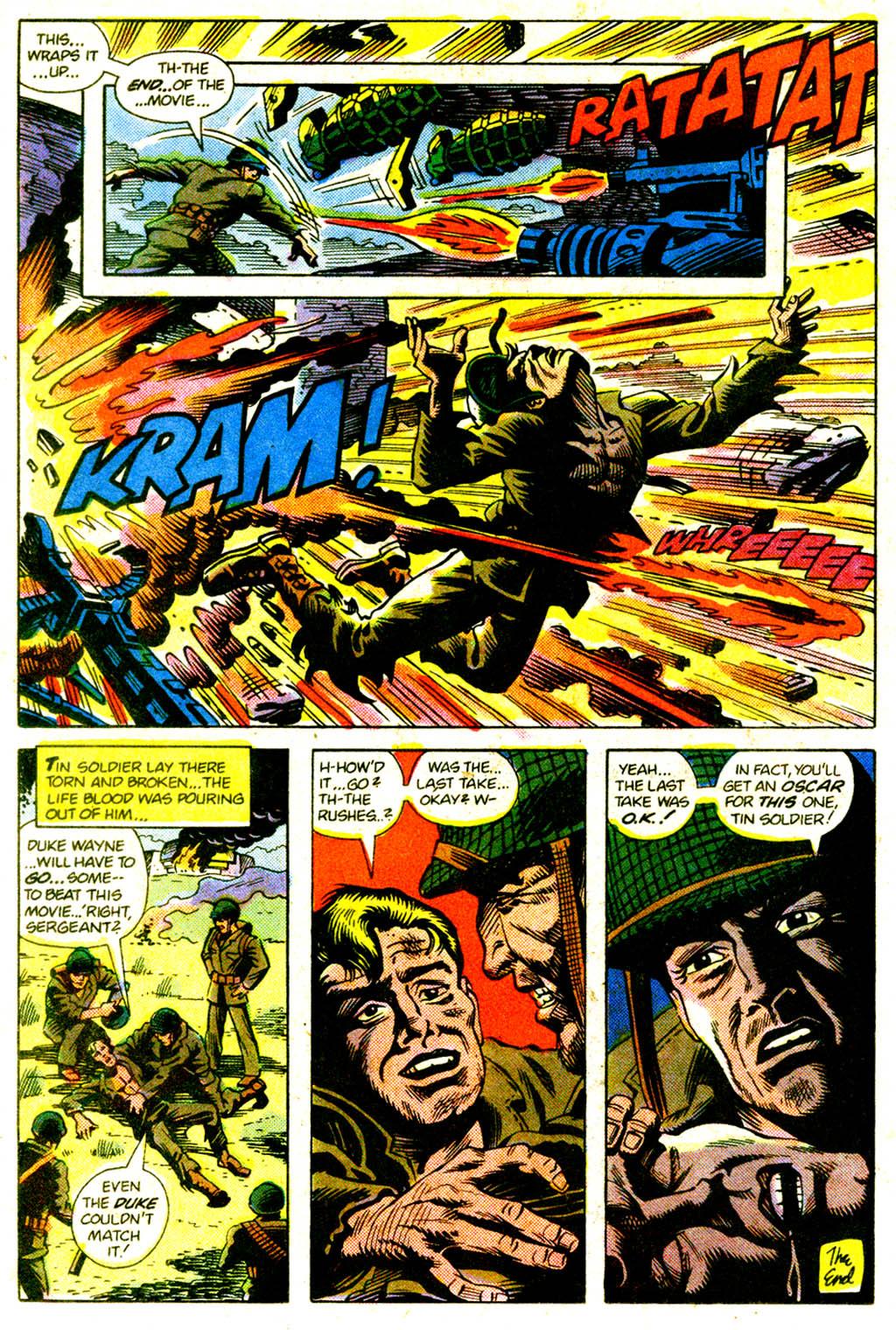 Read online Sgt. Rock comic -  Issue #375 - 21