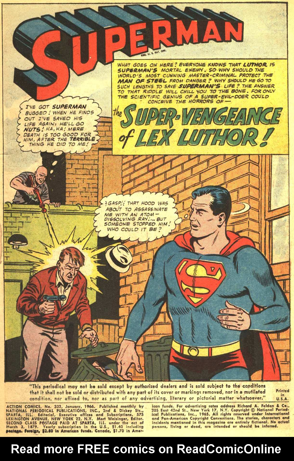 Read online Action Comics (1938) comic -  Issue #332 - 3