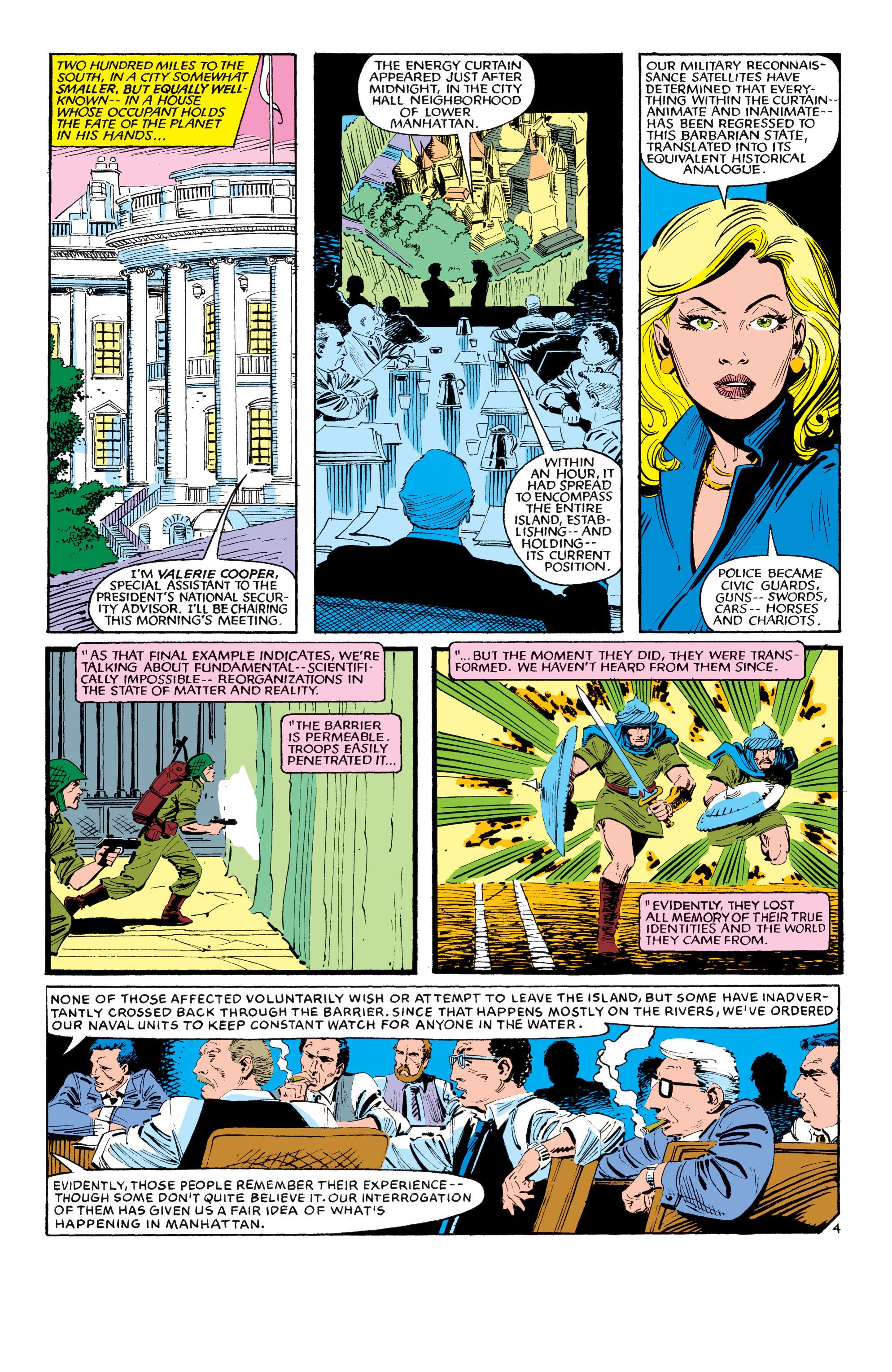 Read online Uncanny X-Men (1963) comic -  Issue #190 - 4