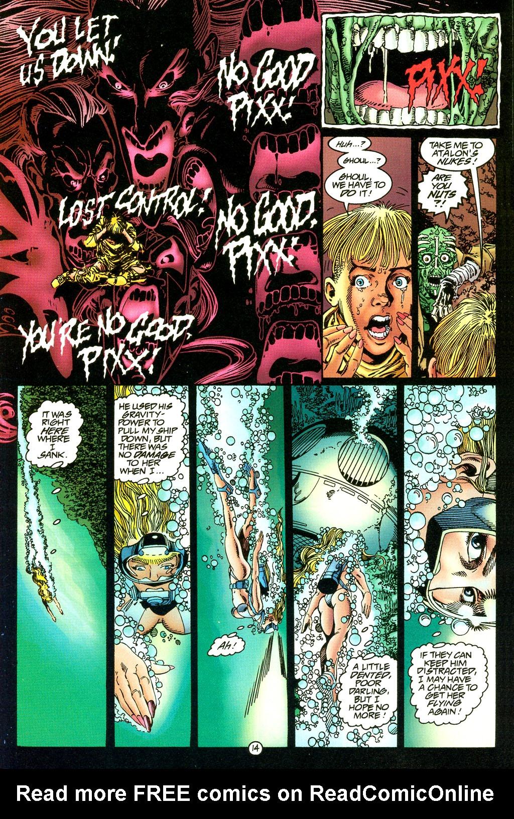 Read online UltraForce (1994) comic -  Issue #5 - 15