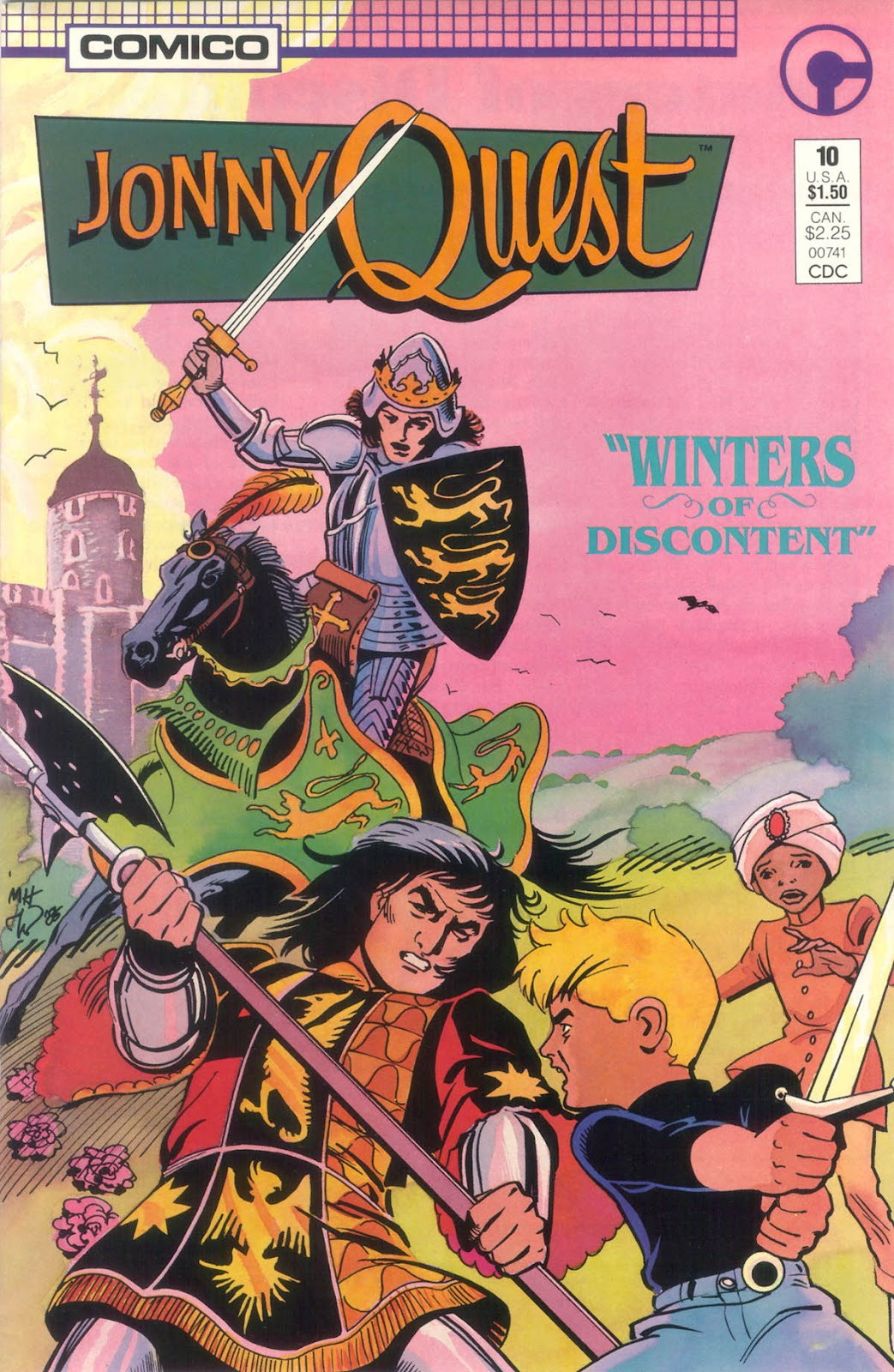 Jonny Quest (1986) issue 10 - Page 1