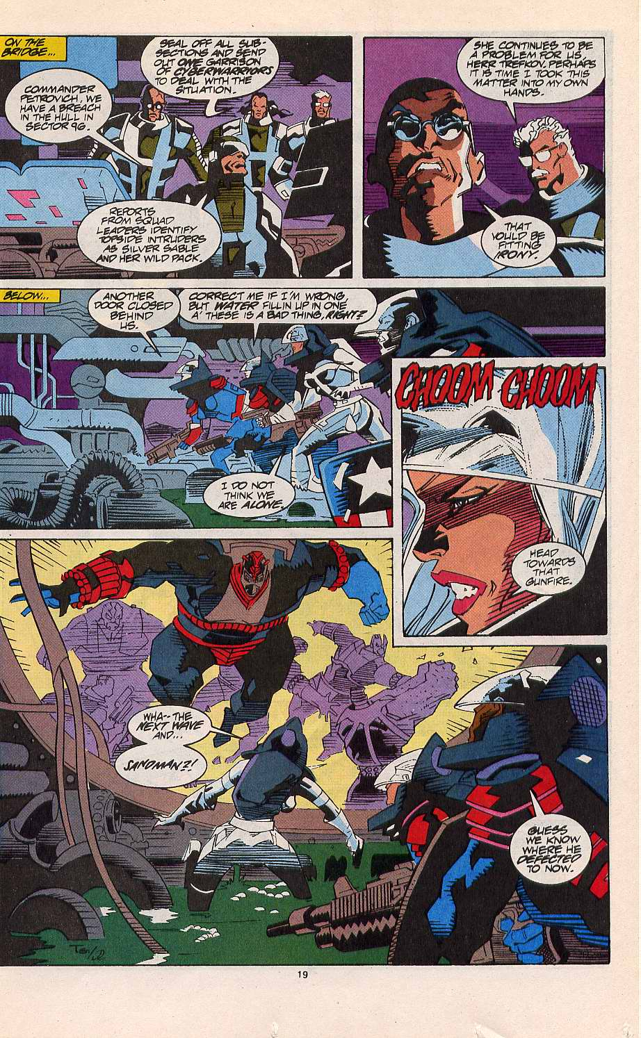 Read online Silver Sable and the Wild Pack comic -  Issue #11 - 16