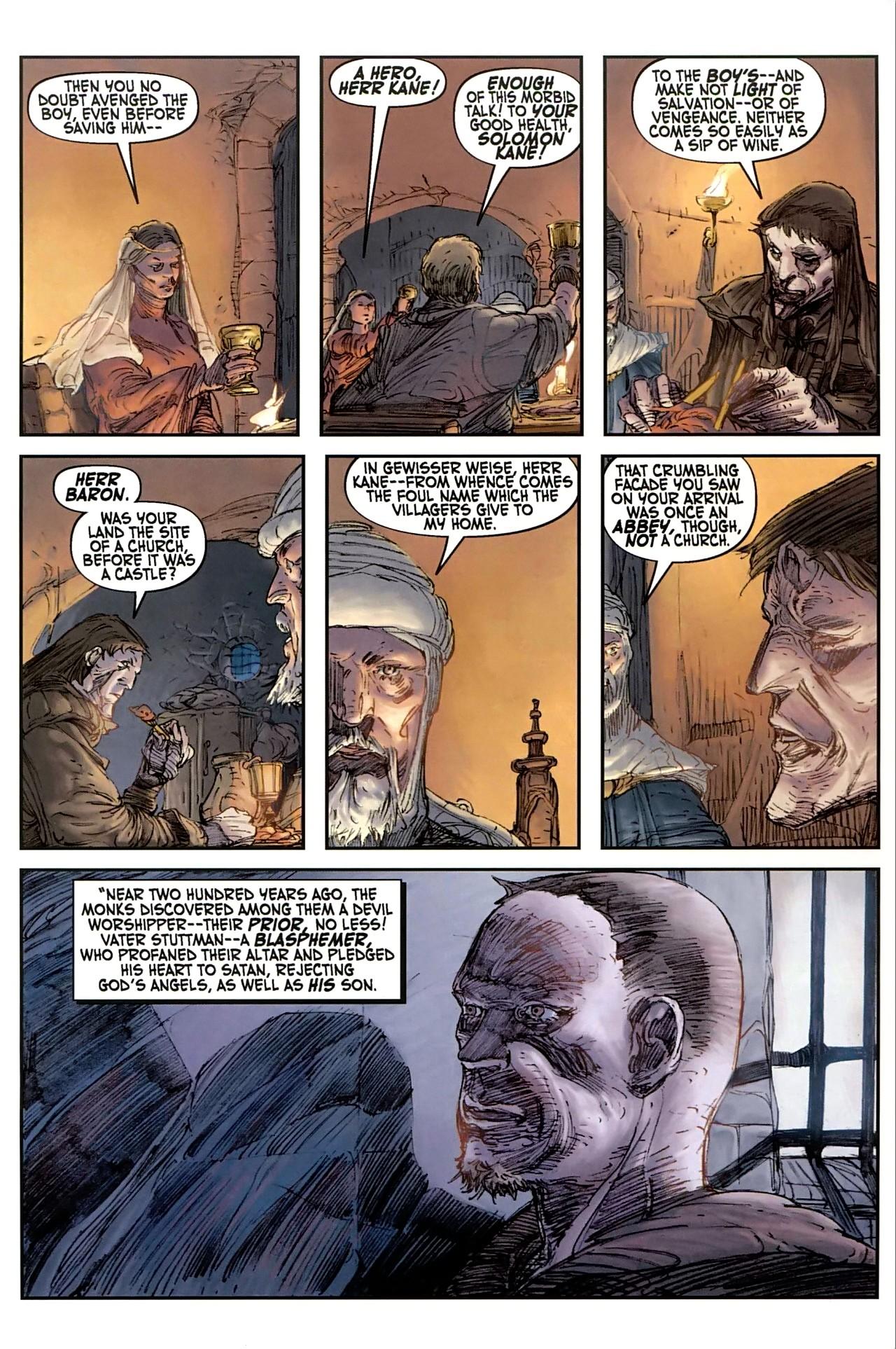 Read online Solomon Kane comic -  Issue #1 - 22
