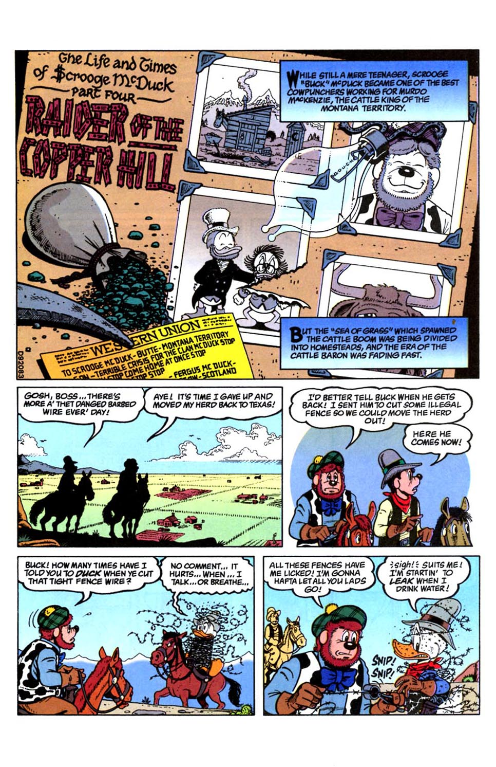 Read online Uncle Scrooge (1953) comic -  Issue #288 - 3