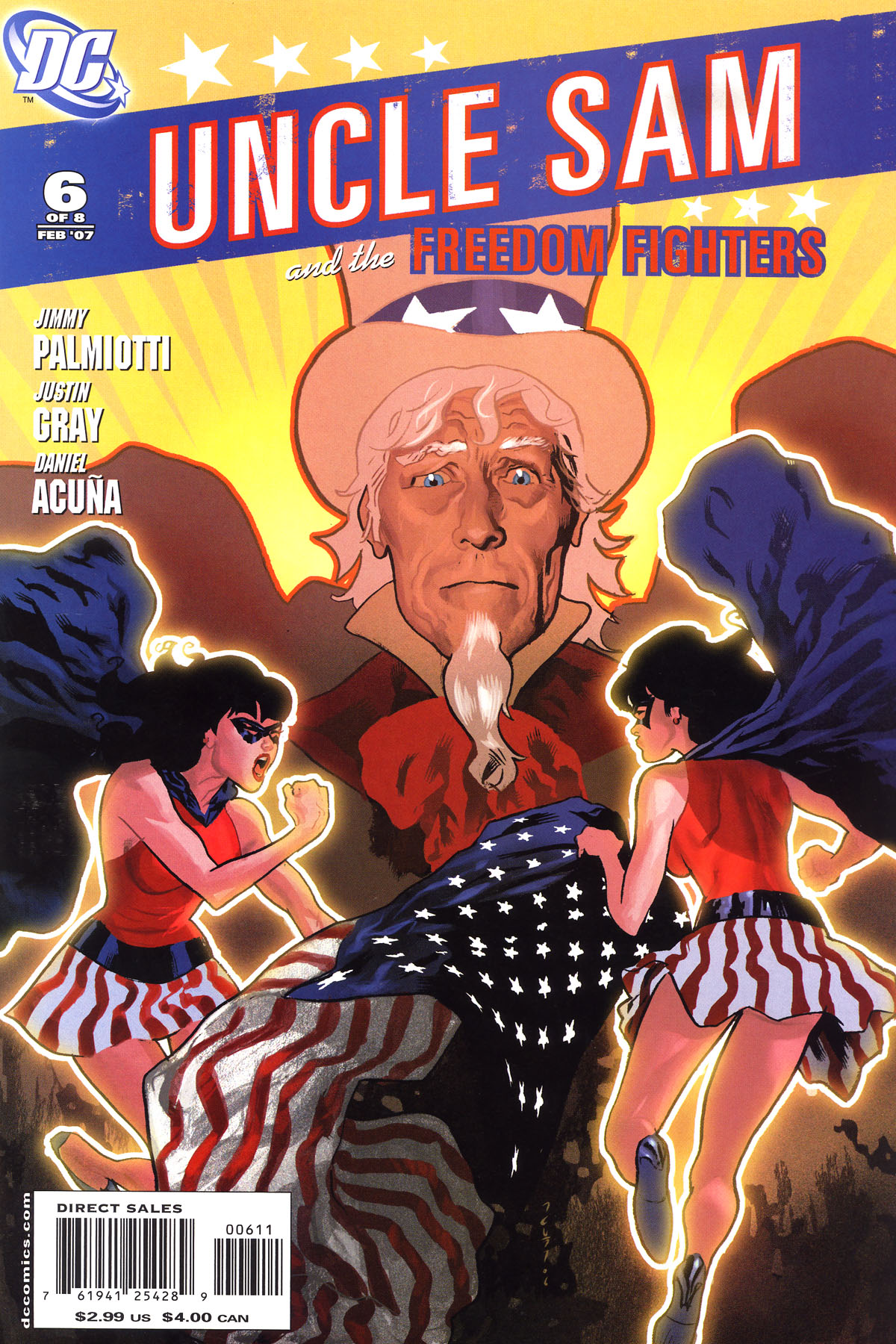 Read online Uncle Sam and the Freedom Fighters (2006) comic -  Issue #6 - 2
