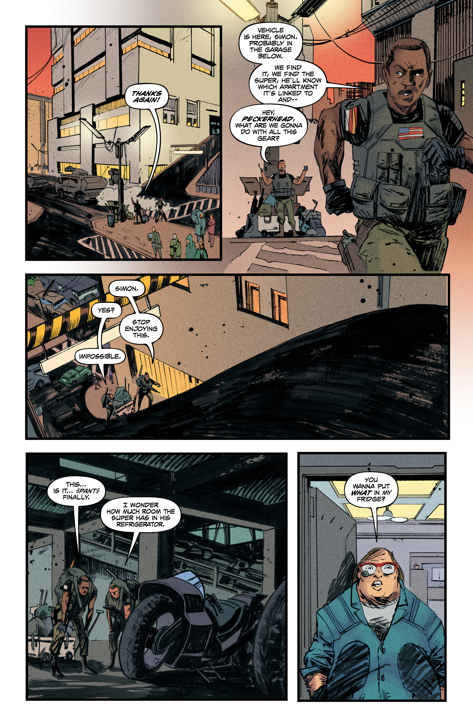 Read online Redline comic -  Issue #4 - 18