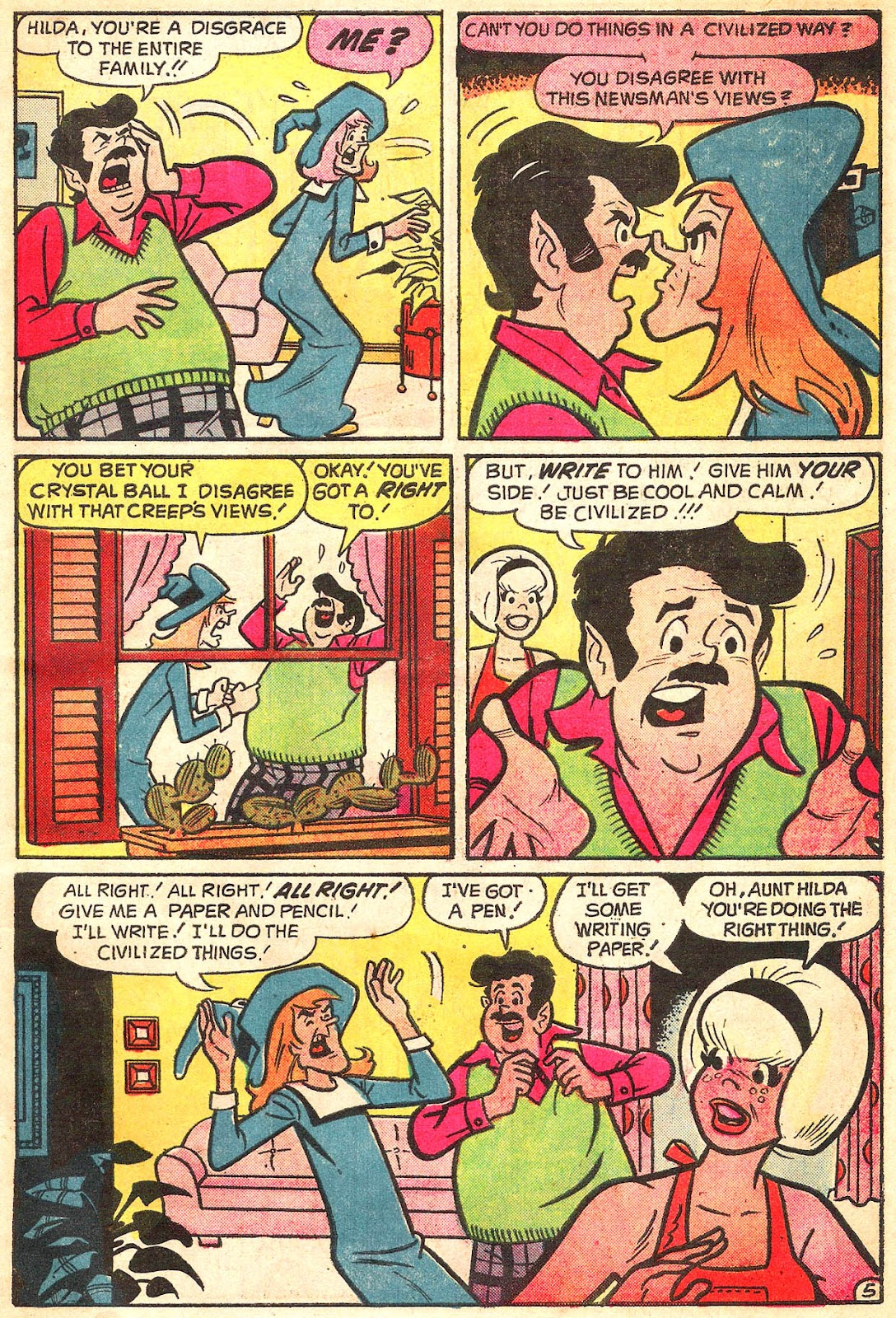Sabrina The Teenage Witch (1971) Issue #20 #20 - English 7