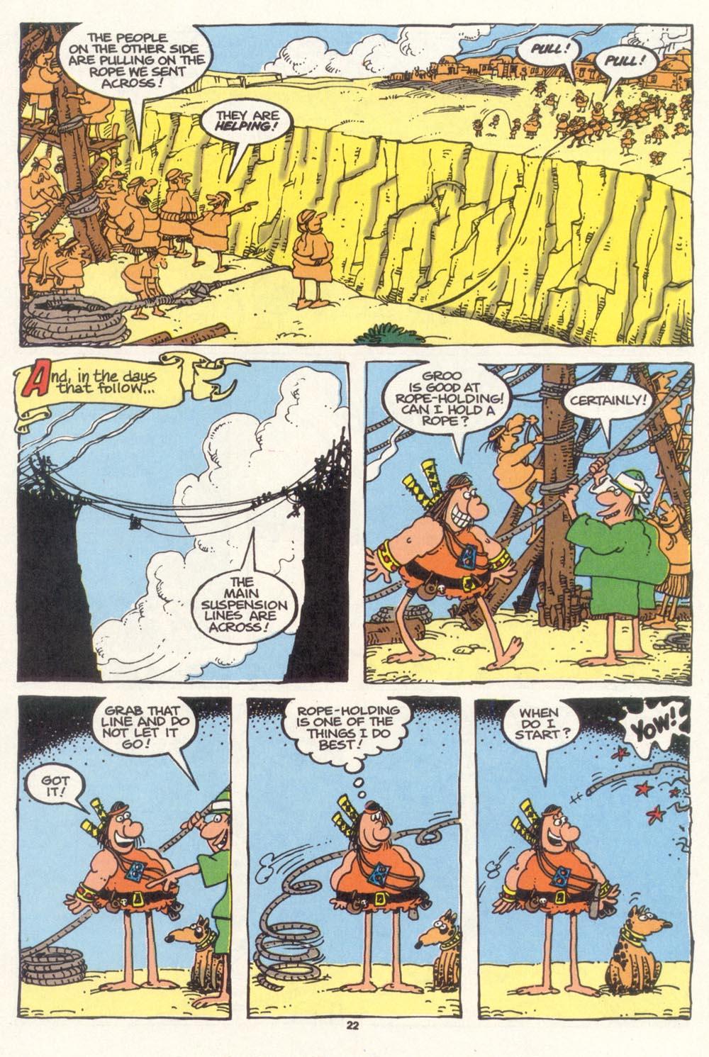 Read online Sergio Aragonés Groo the Wanderer comic -  Issue #102 - 24