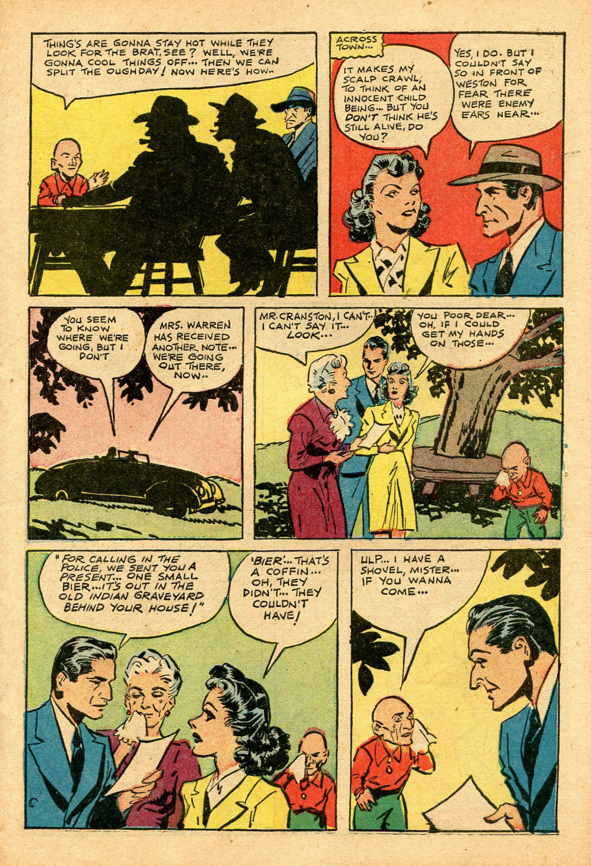 Read online Shadow Comics comic -  Issue #69 - 7