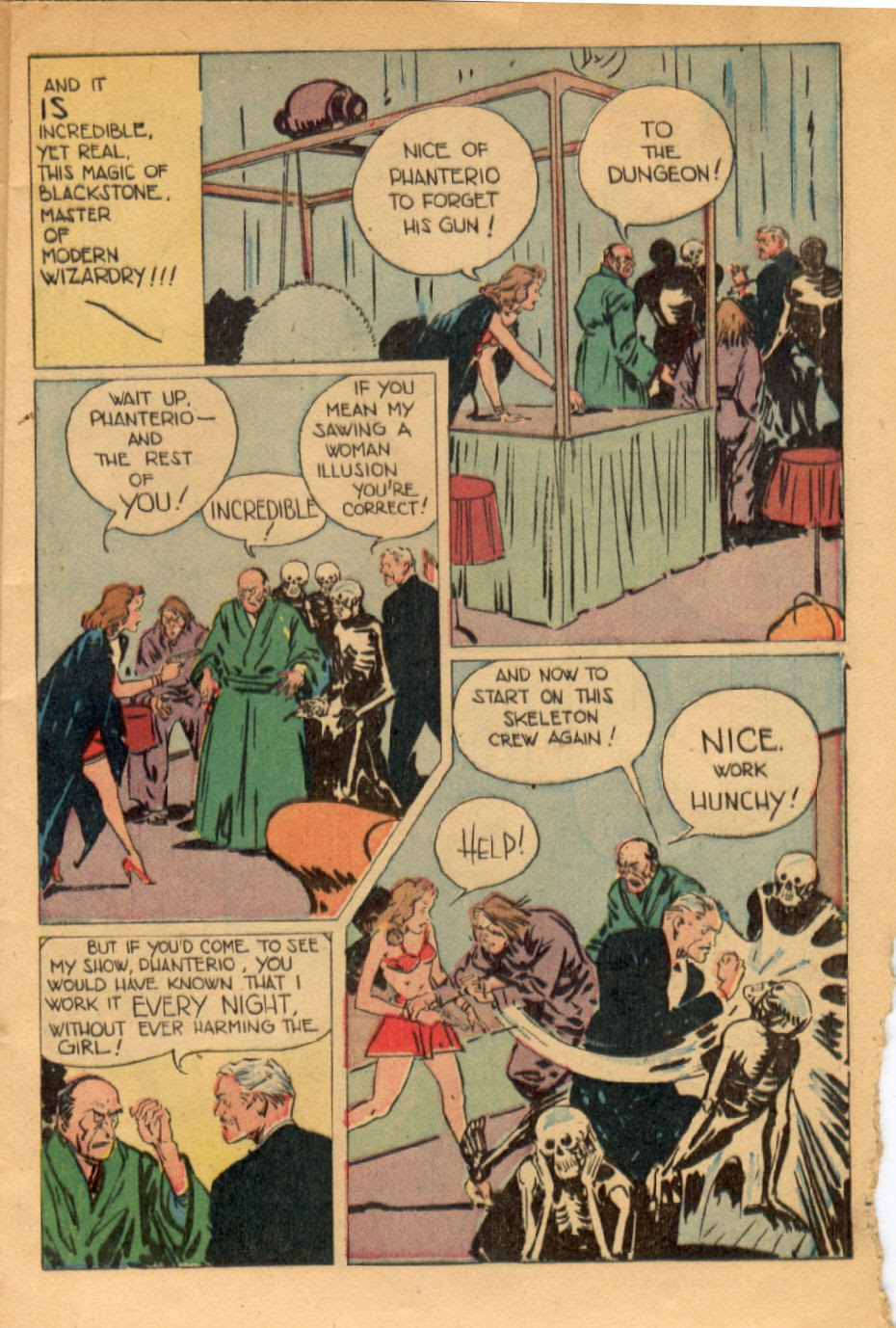 Read online Super-Magician Comics comic -  Issue #43 - 13