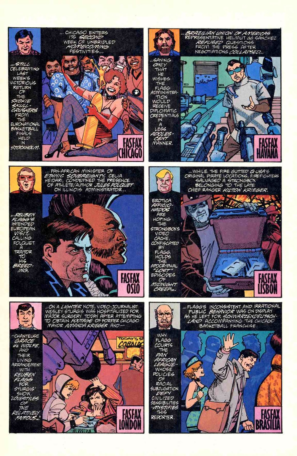 Howard Chaykin's American Flagg issue 2 - Page 3