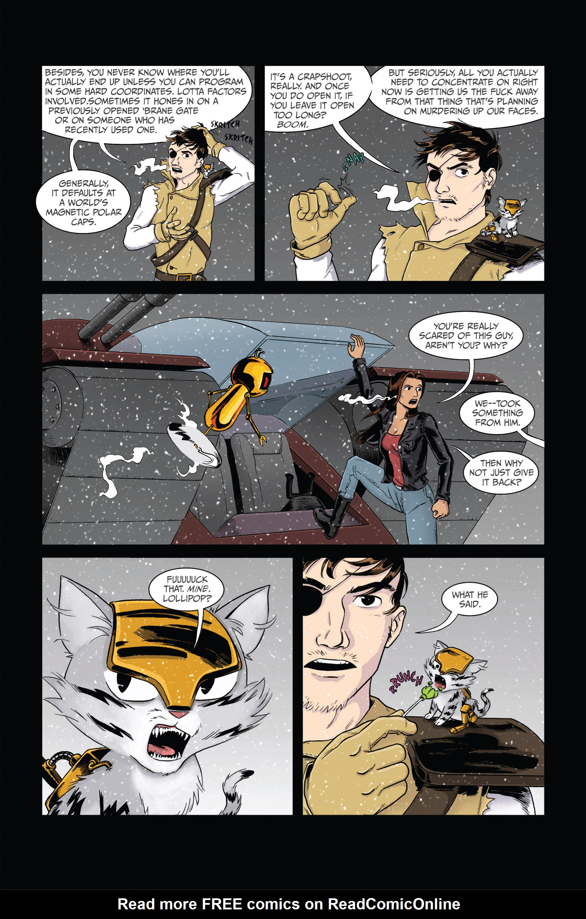 Read online Ehmm Theory: Everything & Small Doses comic -  Issue #2 - 9