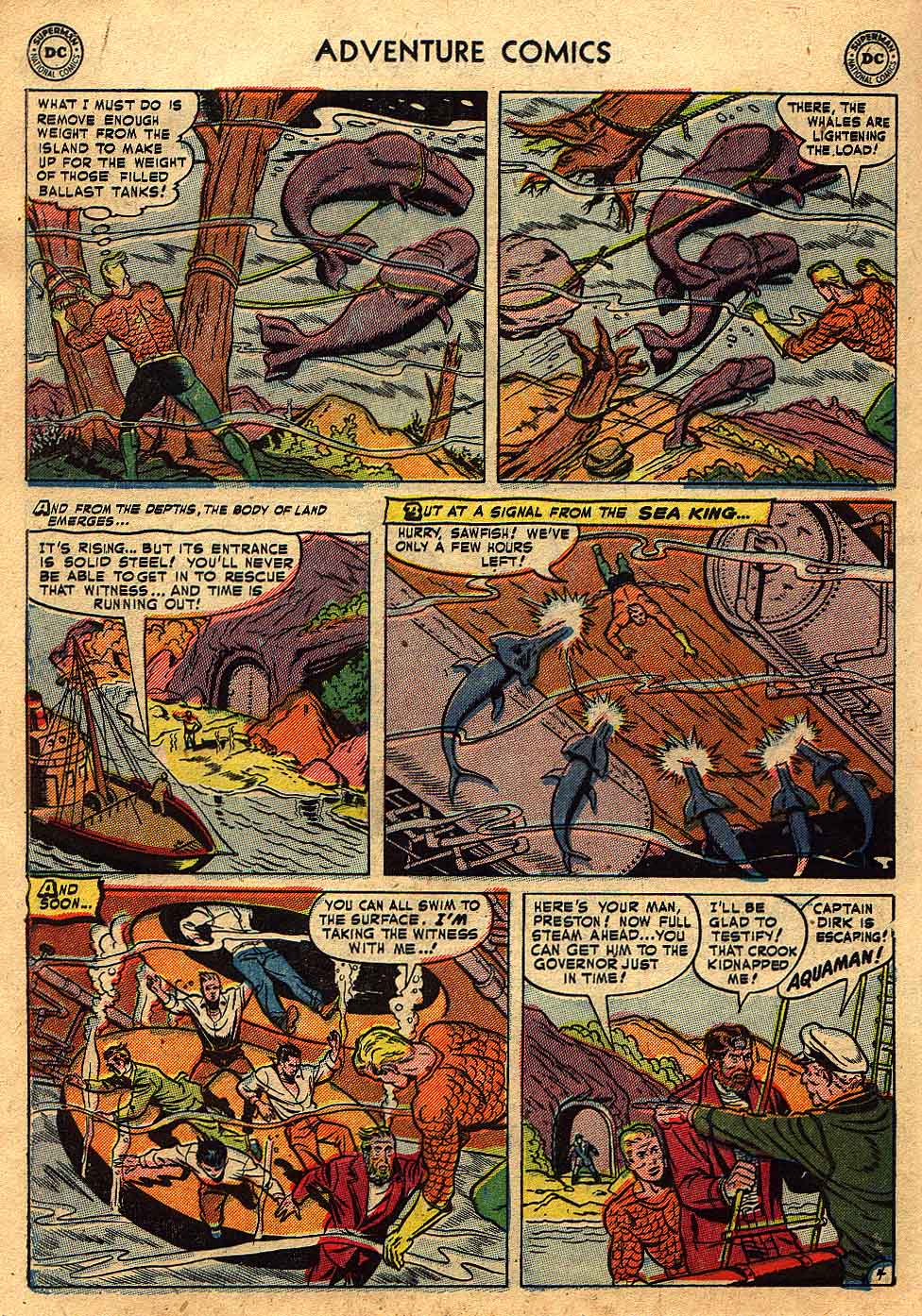 Read online Adventure Comics (1938) comic -  Issue #175 - 20