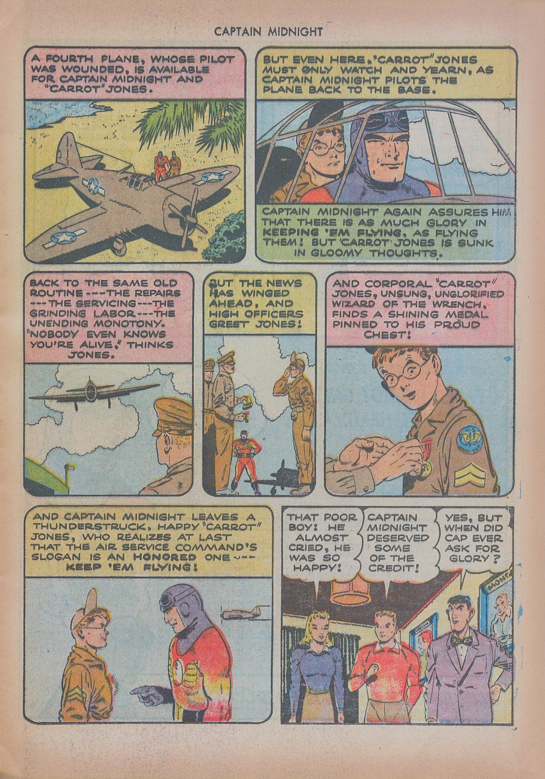 Captain Midnight (1942) issue 20 - Page 13