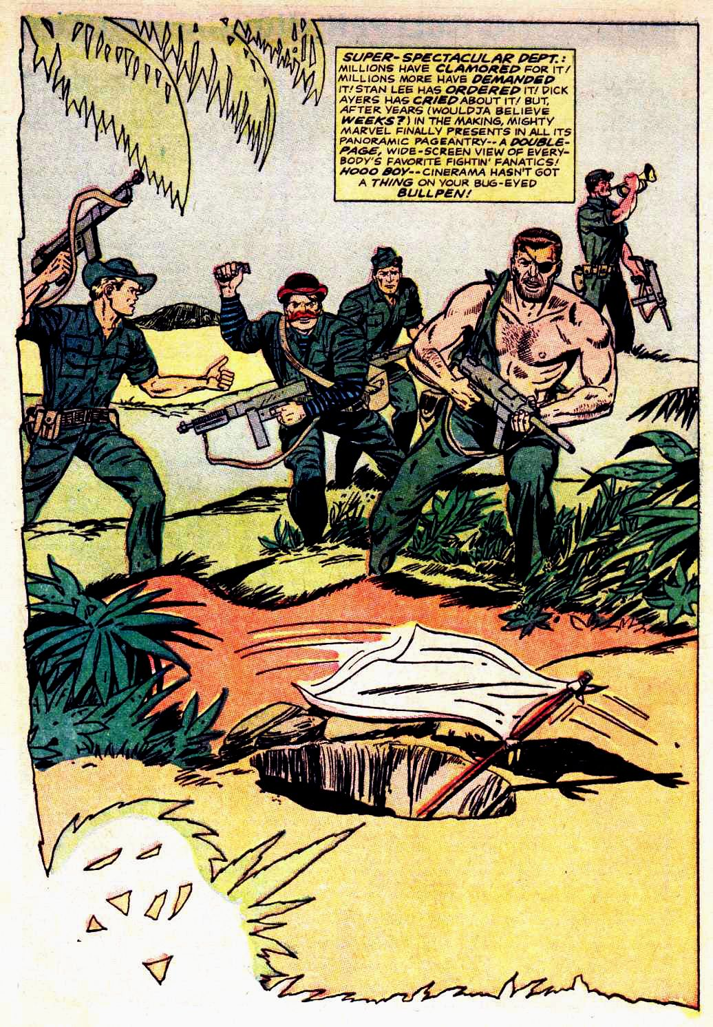 Read online Sgt. Fury comic -  Issue # _Special 3 - 64