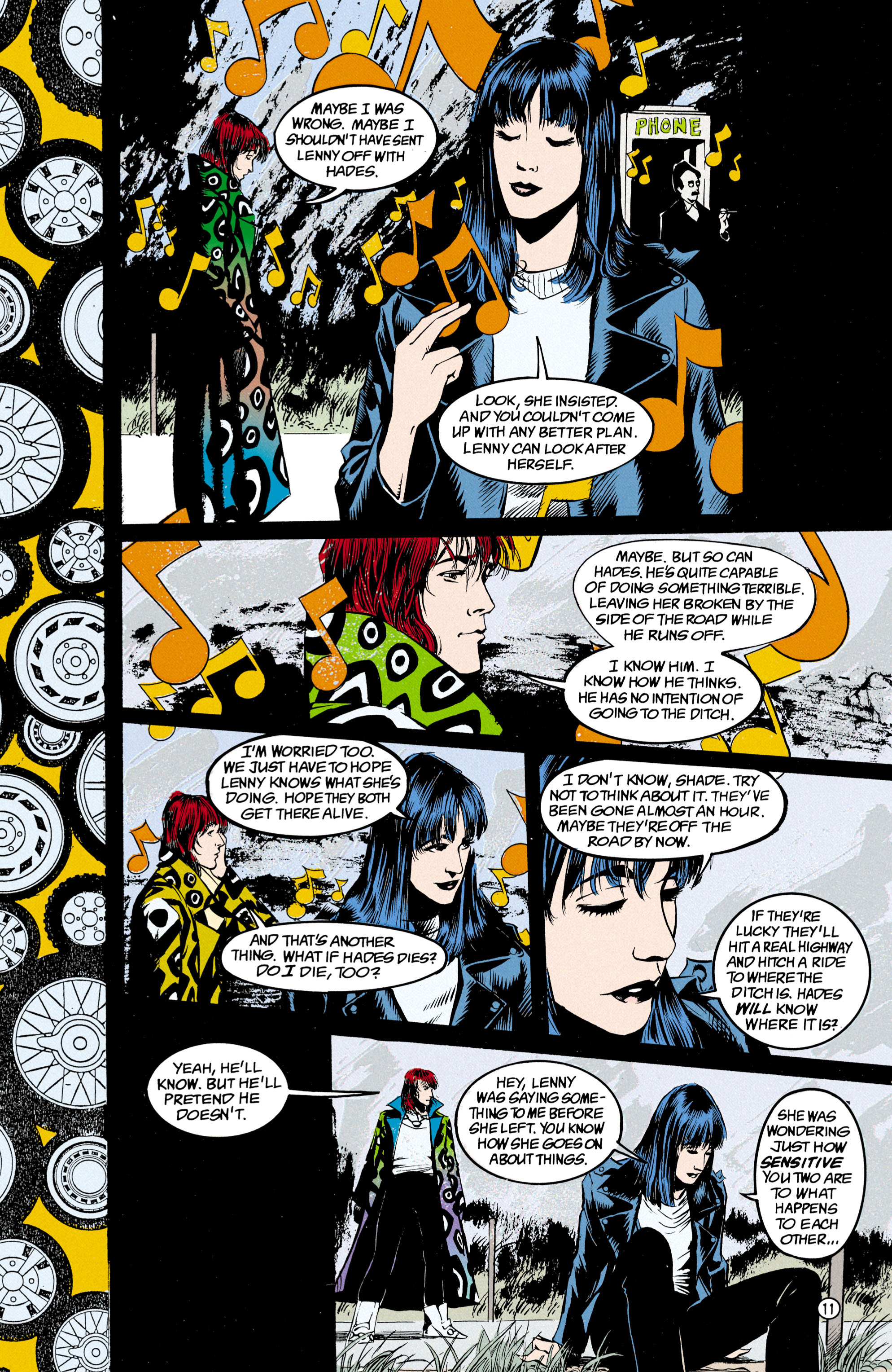 Read online Shade, the Changing Man comic -  Issue #24 - 12